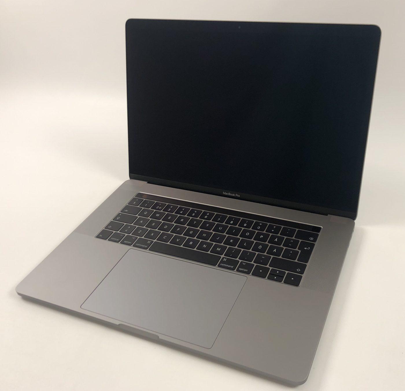 """MacBook Pro 15"""" Touch Bar Mid 2017 (Intel Quad-Core i7 2.8 GHz 16 GB RAM 512 GB SSD), Space Gray, Intel Quad-Core i7 2.8 GHz, 16 GB RAM, 512 GB SSD, Kuva 1"""
