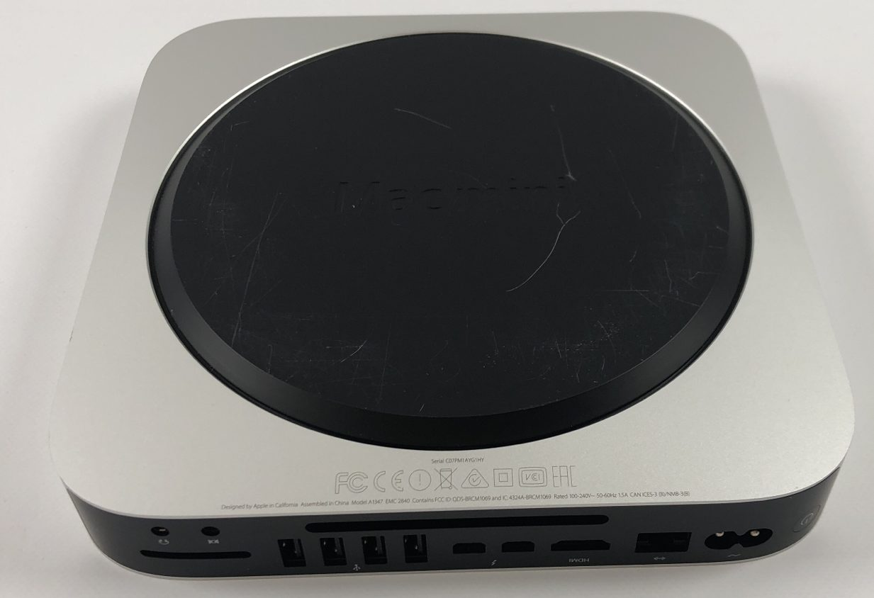 Mac Mini Late 2014 (Intel Core i5 2.8 GHz 8 GB RAM 1 TB SSD), Intel Core i5 2.8 GHz, 8 GB RAM, 1 TB Fusion Drive, bild 4