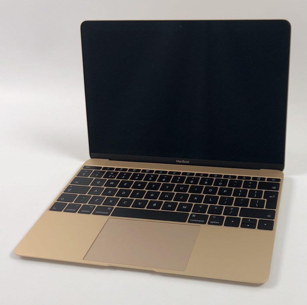 """MacBook 12"""" Mid 2017 (Intel Core i5 1.3 GHz 8 GB RAM 512 GB SSD), Gold, Intel Core i5 1.3 GHz, 8 GB RAM, 512 GB SSD, bild 1"""