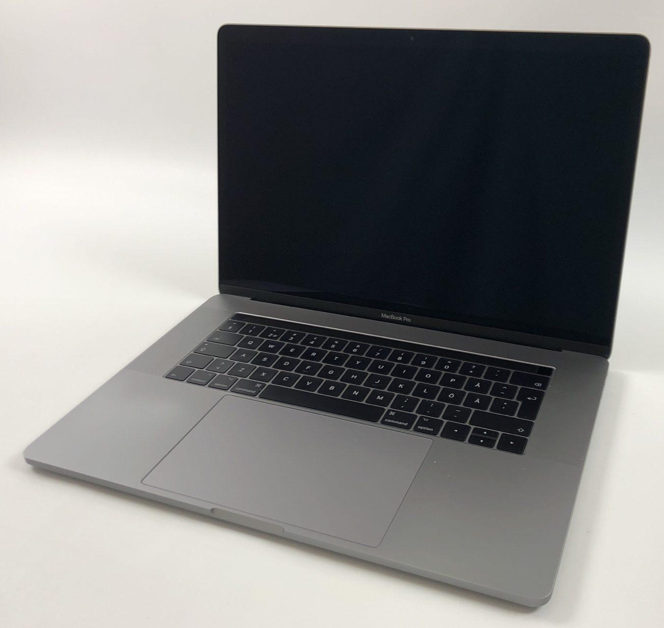 "MacBook Pro 15"" Touch Bar Late 2016 (Intel Quad-Core i7 2.9 GHz 16 GB RAM 512 GB SSD), Space Gray, Intel Quad-Core i7 2.9 GHz, 16 GB RAM, 512 GB SSD, Kuva 1"