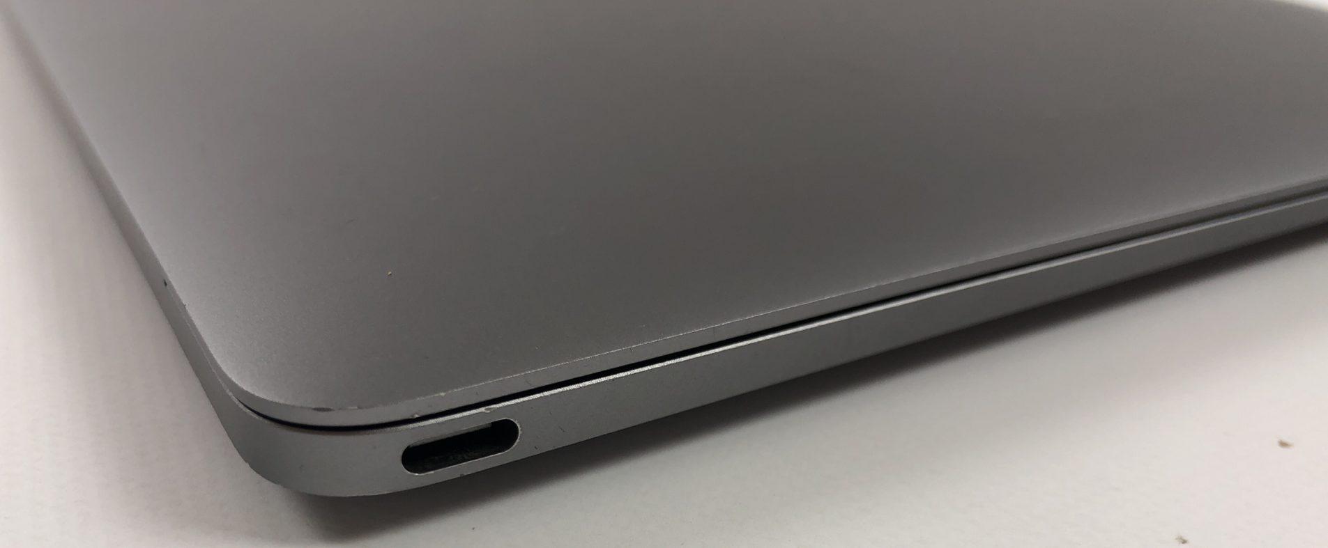 "MacBook 12"" Early 2015 (Intel Core M 1.2 GHz 8 GB RAM 512 GB SSD), Space Gray, Intel Core M 1.2 GHz, 8 GB RAM, 512 GB SSD, image 3"