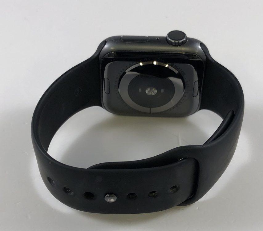 Watch Series 4 Aluminum (44mm), Space Gray, Black Sport Band, bild 2