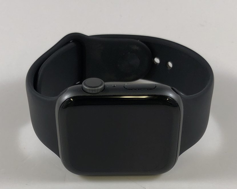 Watch Series 4 Aluminum (44mm), Space Gray, Black Sport Band, image 1