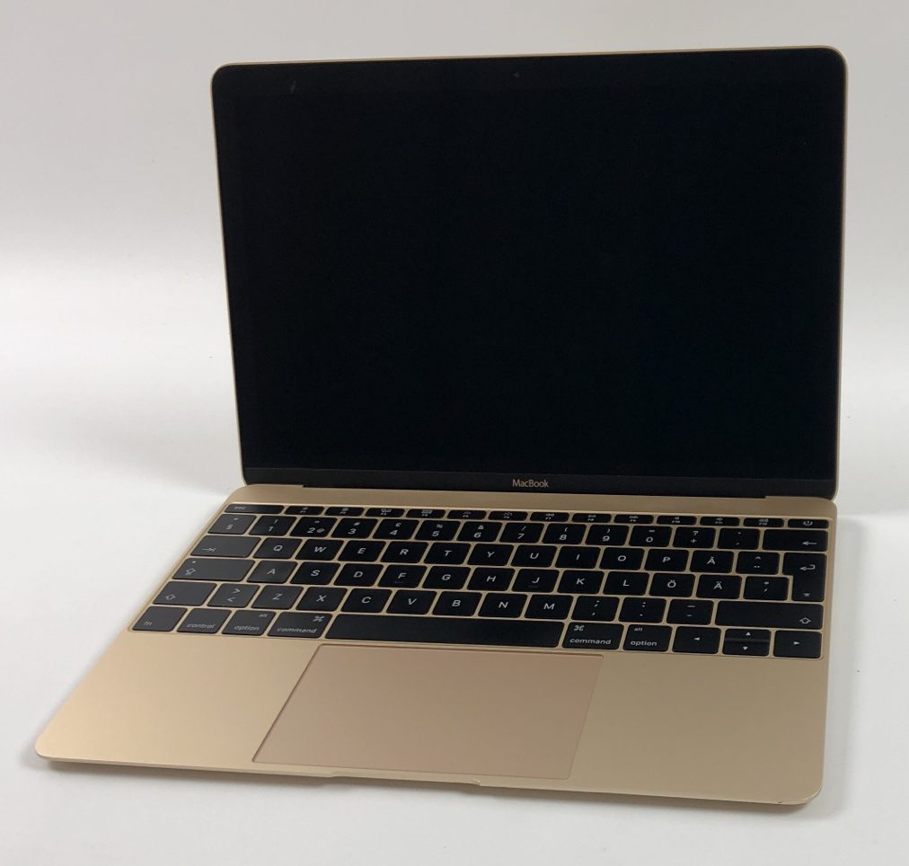 "MacBook 12"" Early 2015 (Intel Core M 1.1 GHz 8 GB RAM 256 GB SSD), Gold, Intel Core M 1.1 GHz, 8 GB RAM, 256 GB SSD, bild 1"