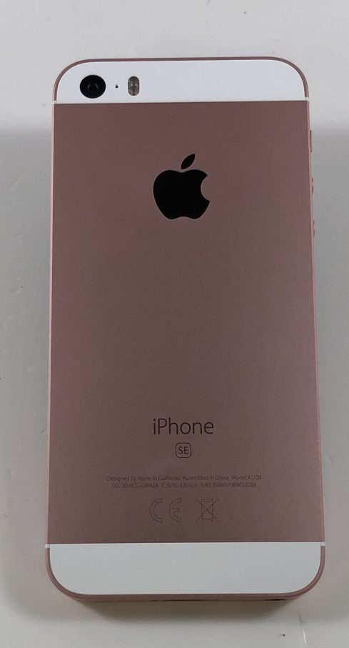 iPhone SE 32GB, 32GB, Rose Gold, bild 2