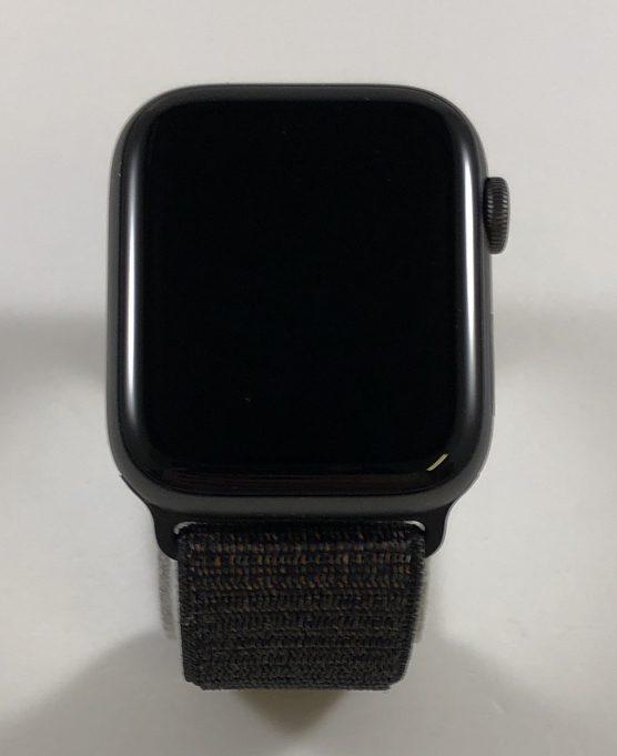Watch Series 4 Aluminum Cellular (44mm), Space Gray, Black Sport Loop, Kuva 1