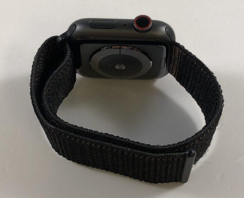 Watch Series 4 Aluminum Cellular (44mm), Space Gray, Black Sport Loop, Kuva 2