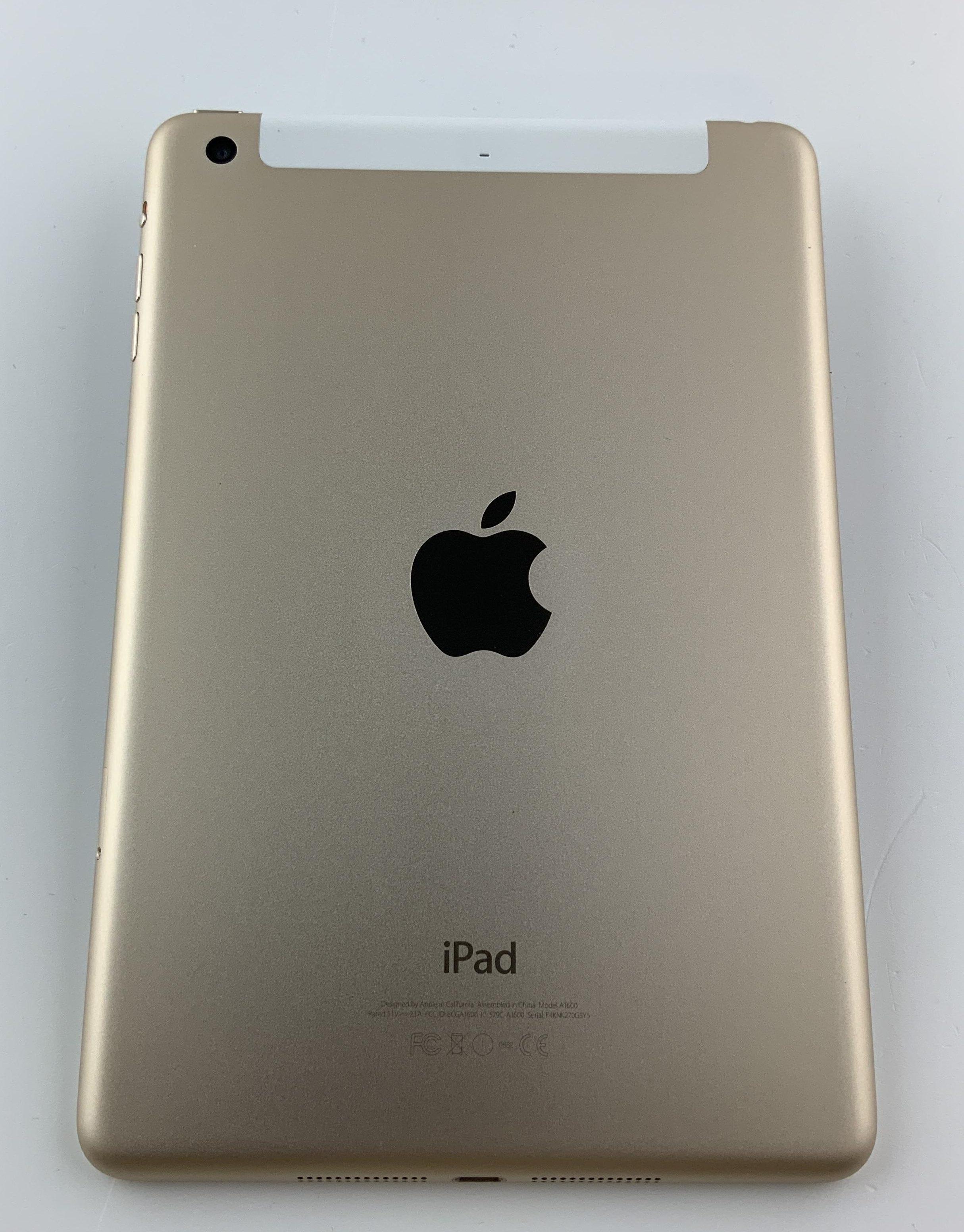 iPad mini 3 Wi-Fi + Cellular 64GB, 64GB, Gold, bild 2