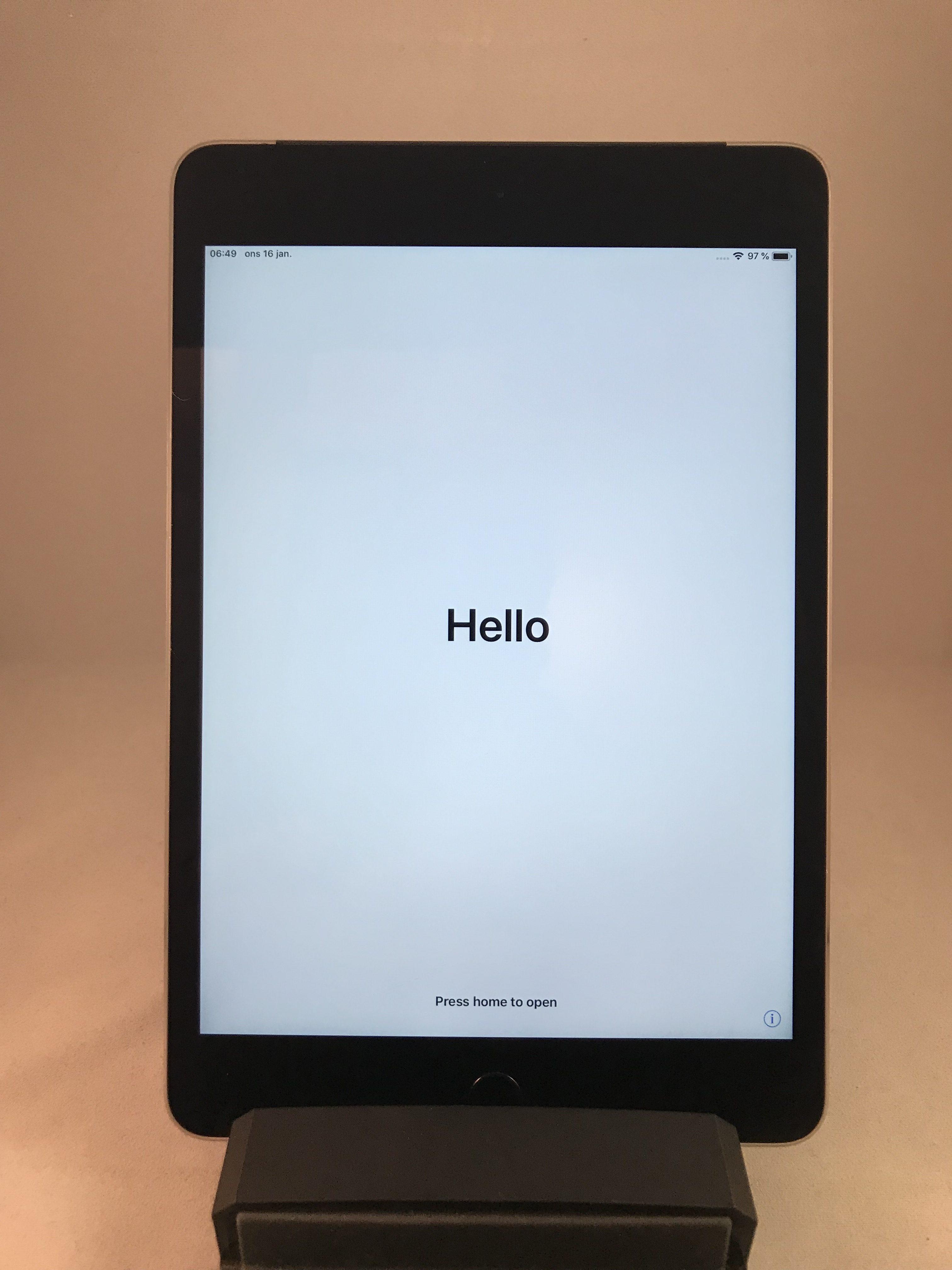 iPad mini 4 Wi-Fi + Cellular 128GB, 128GB, Gray, bild 1