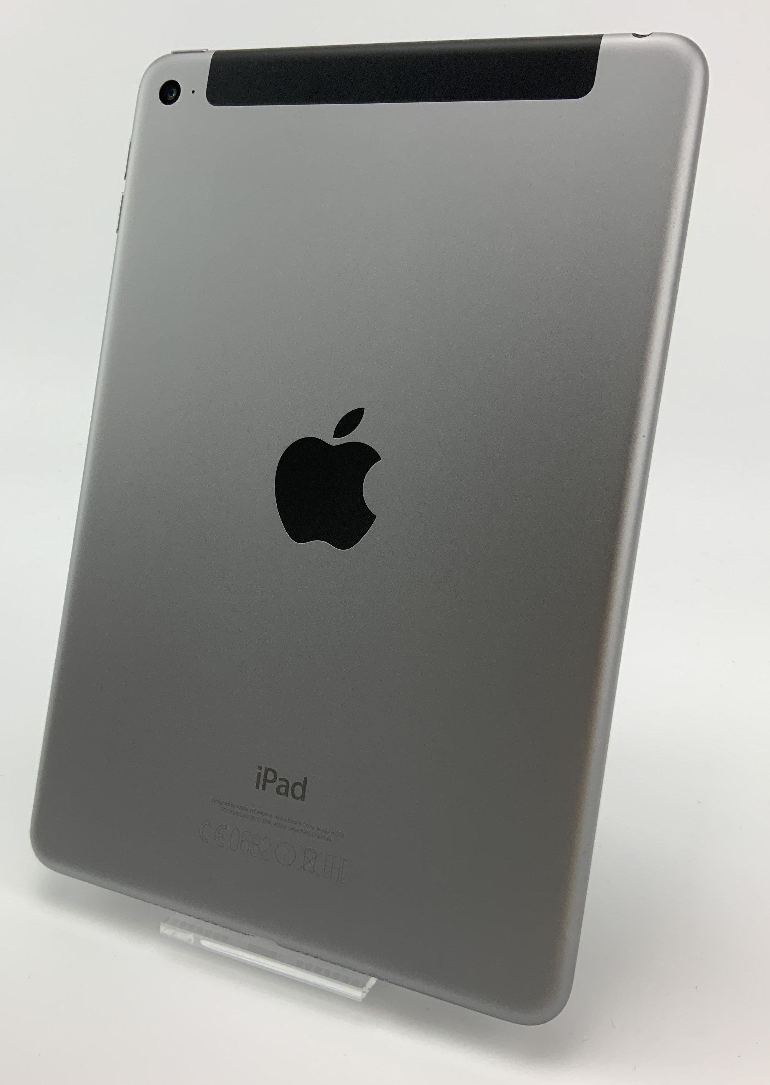 iPad mini 4 Wi-Fi + Cellular 128GB, 128GB, Space Gray, image 2
