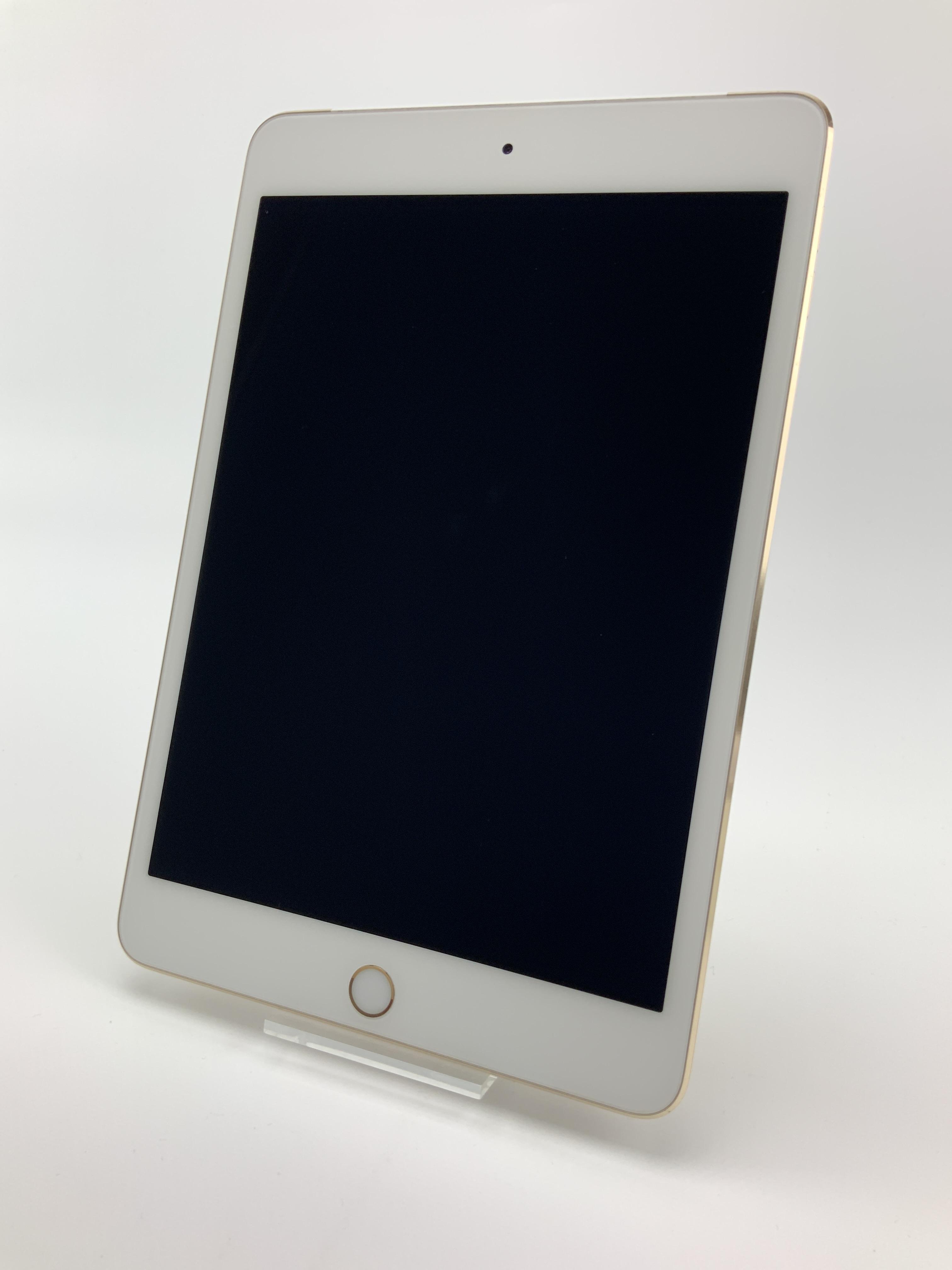 iPad mini 4 Wi-Fi + Cellular 128GB, 128GB, Gold, Kuva 1