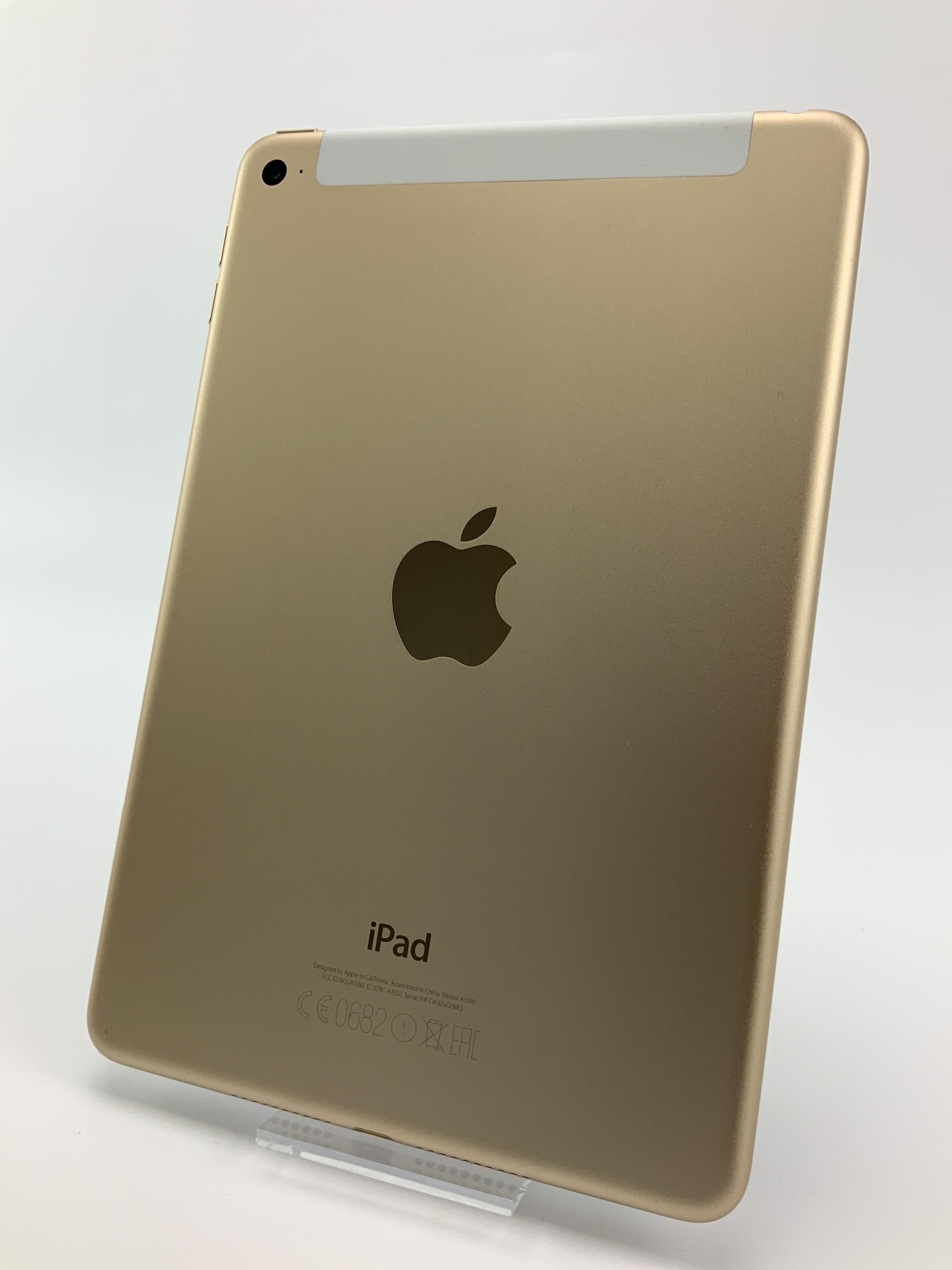 iPad mini 4 Wi-Fi + Cellular 128GB, 128GB, Gold, Kuva 2