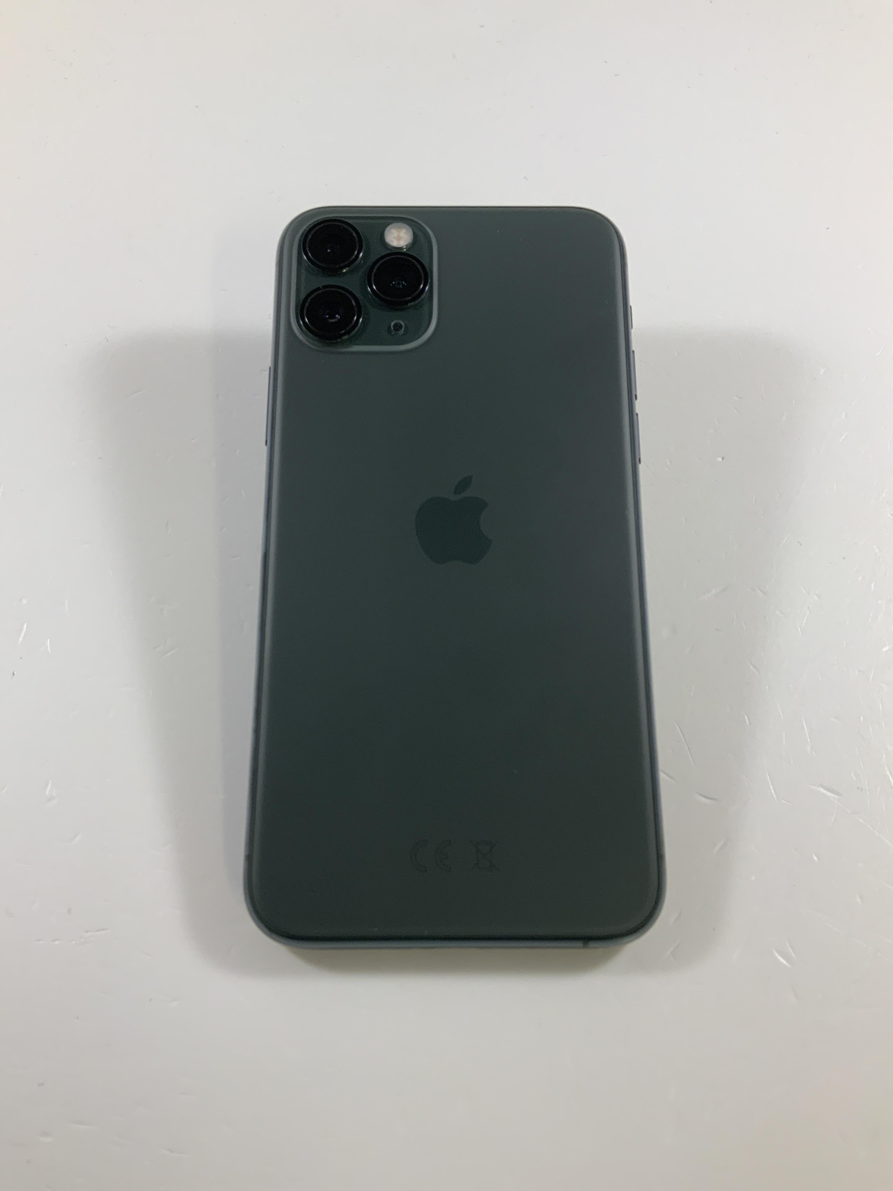 iPhone 11 Pro 64GB, 64GB, Midnight Green, Afbeelding 2