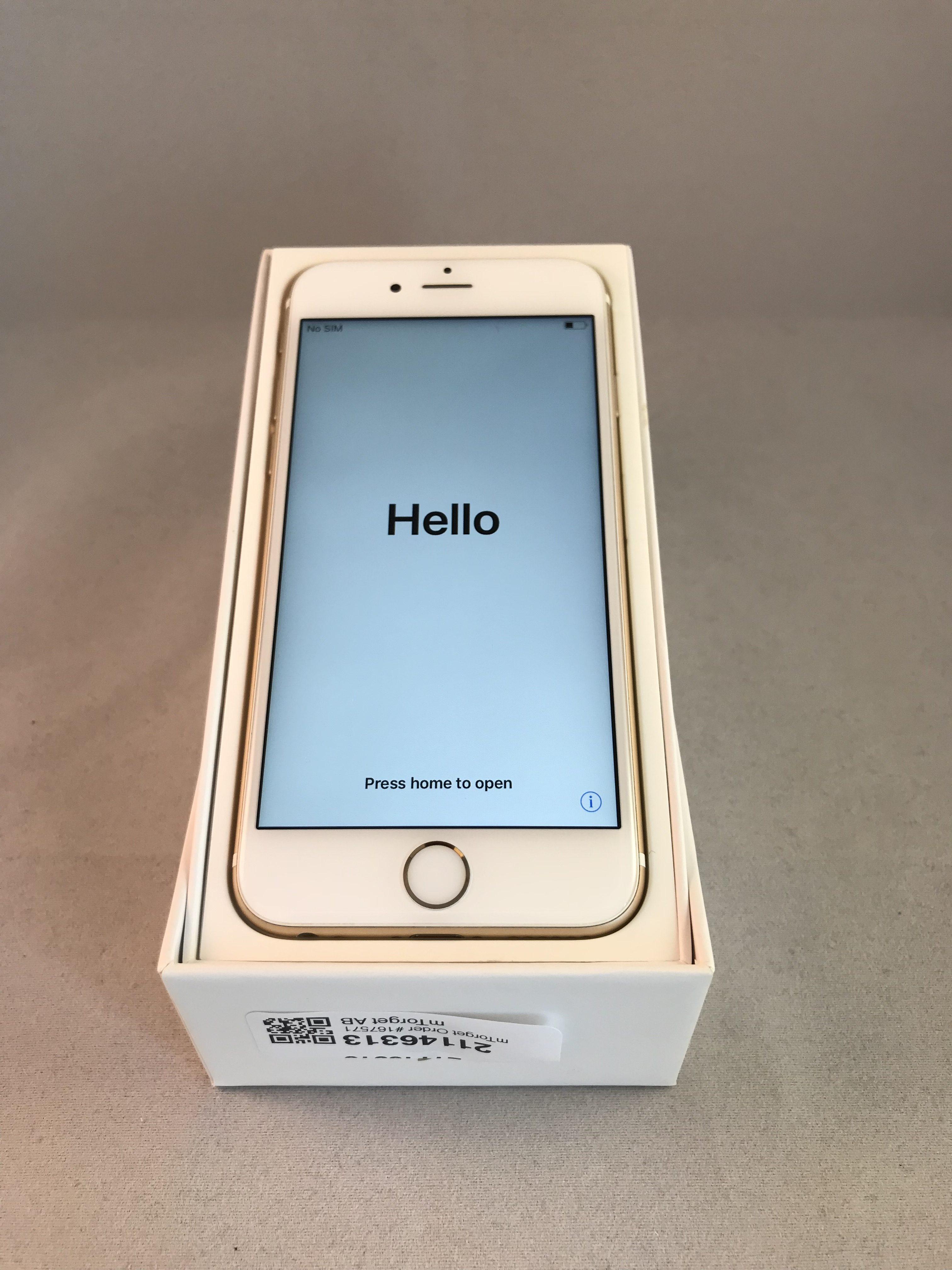 iPhone 6S 16GB, 16GB, Gold, Afbeelding 1