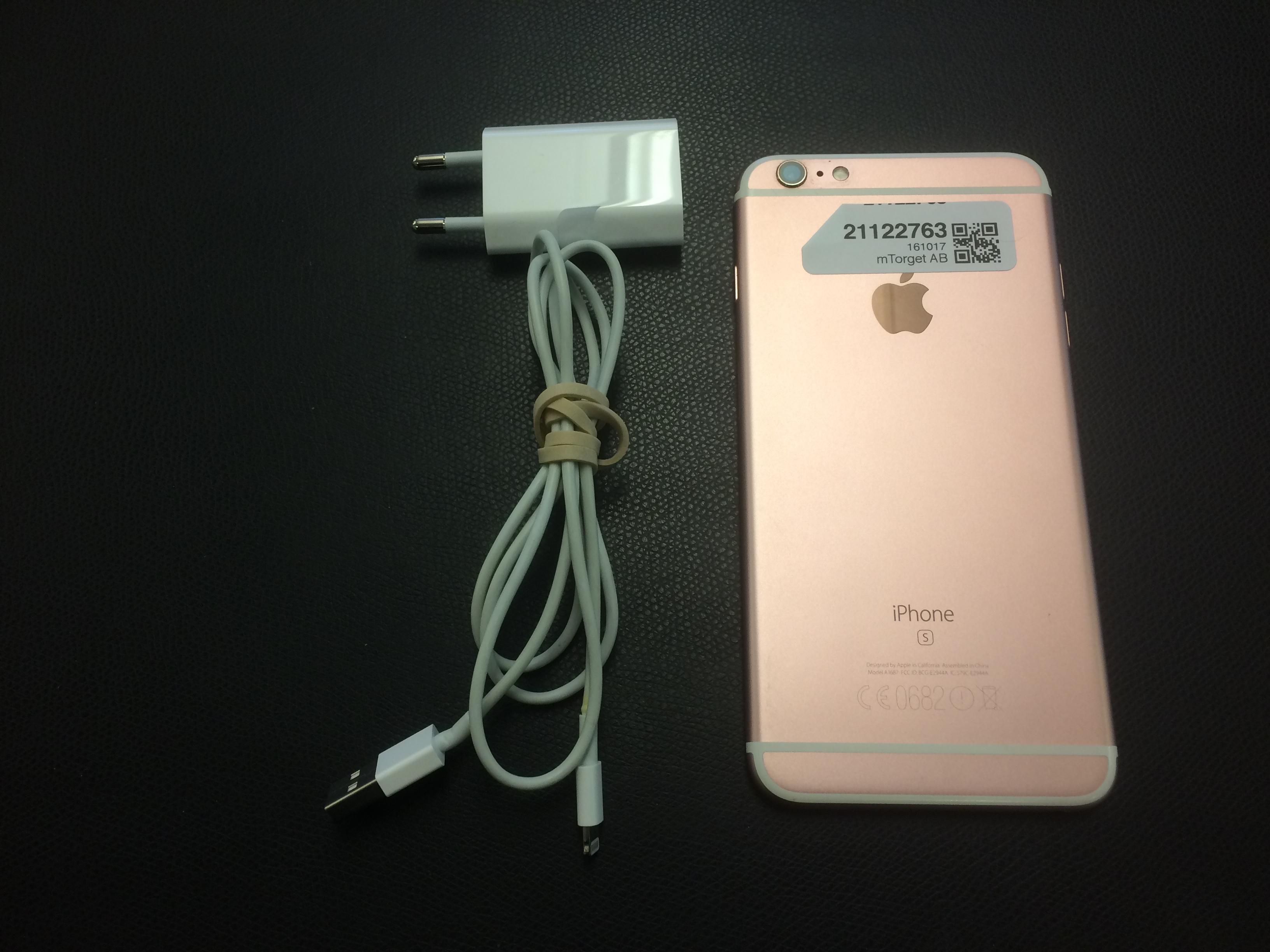 iPhone 6S Plus 128GB, 128GB, ROSE GOLD, bild 2