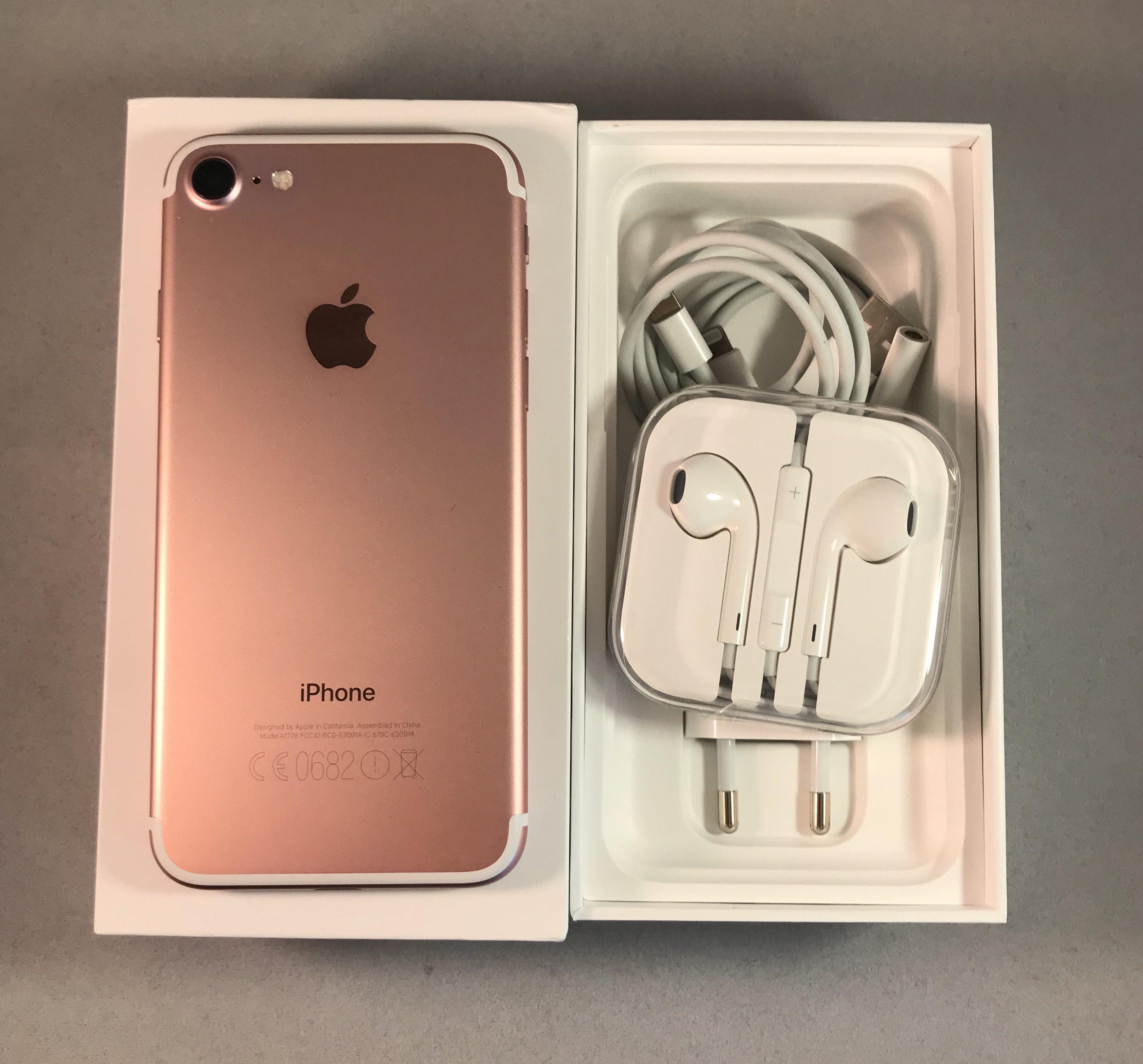 iPhone 7 128GB, 128 GB, Rose Gold, bild 3