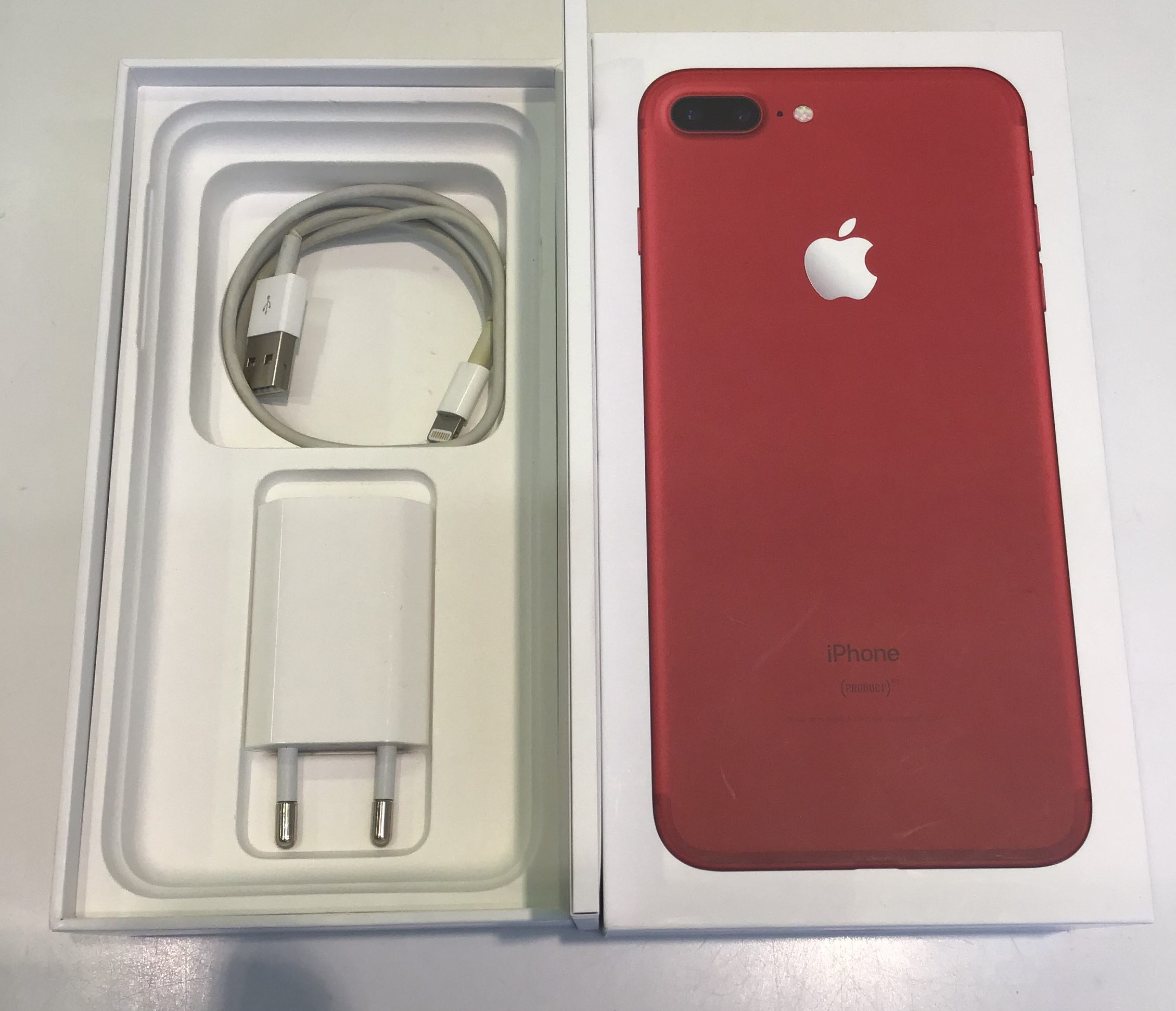 iPhone 7 Plus 256GB, 256GB, Red, bild 3