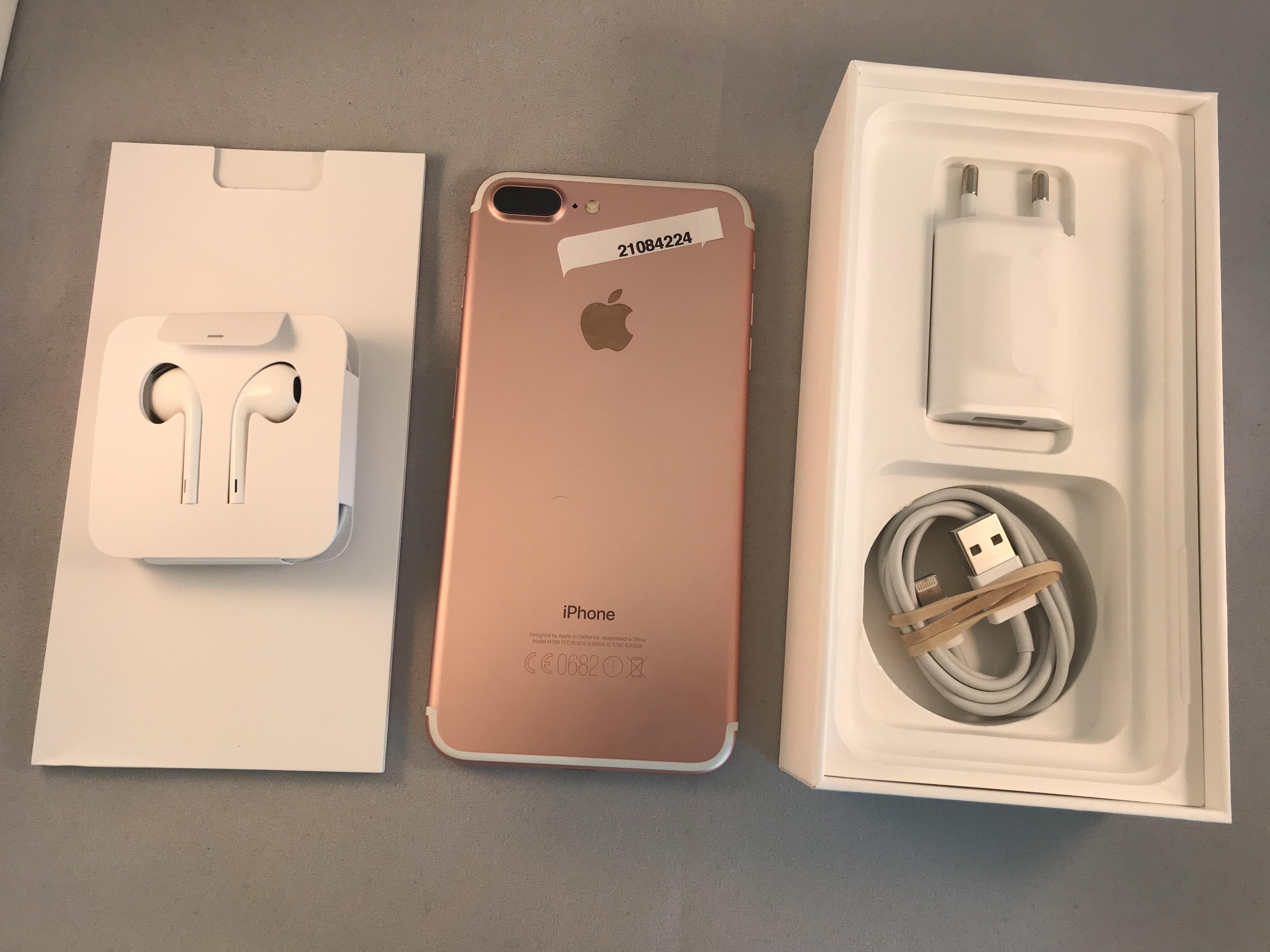 iPhone 7 Plus 32GB, 32 GB, Rose Gold, bild 2