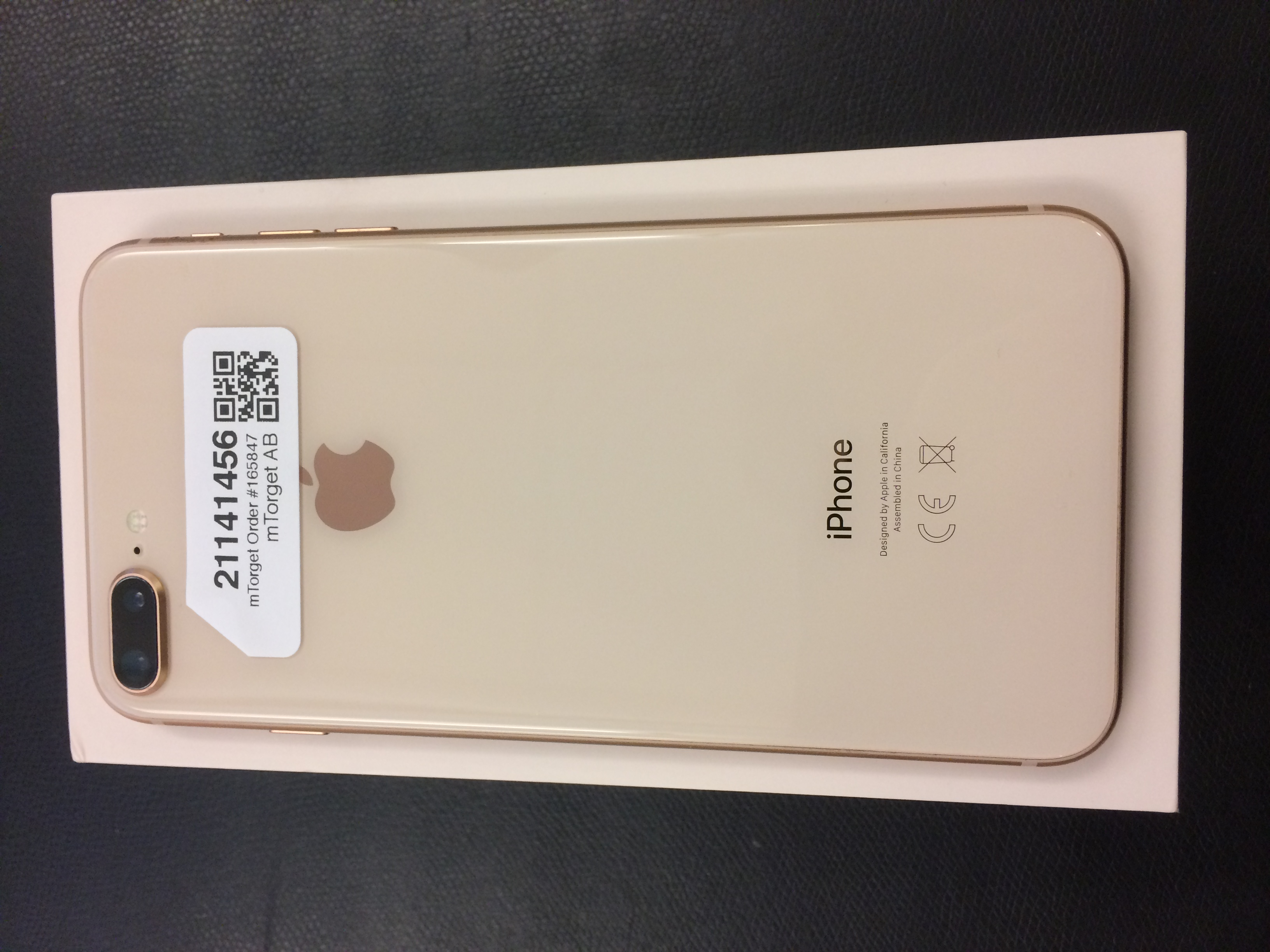 iPhone 8 Plus 256GB, 256GB, GOLD, bild 2
