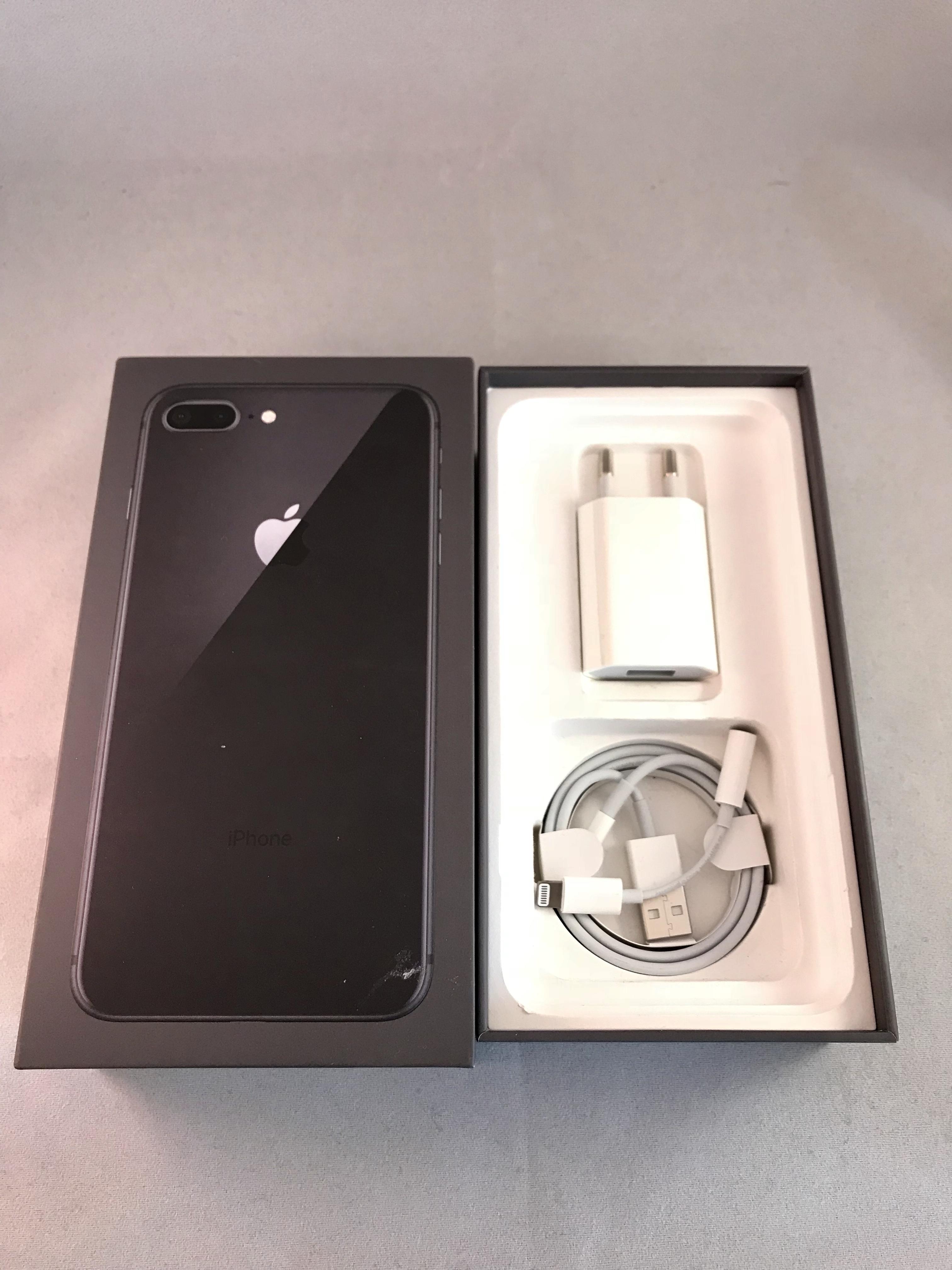 iPhone 8 Plus 64GB, 64GB, Space gray, bild 3