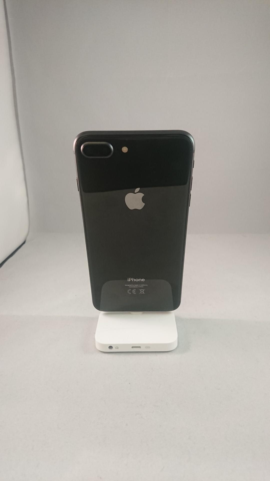 iPhone 8 Plus 64GB, 64GB, BLACK, bild 2