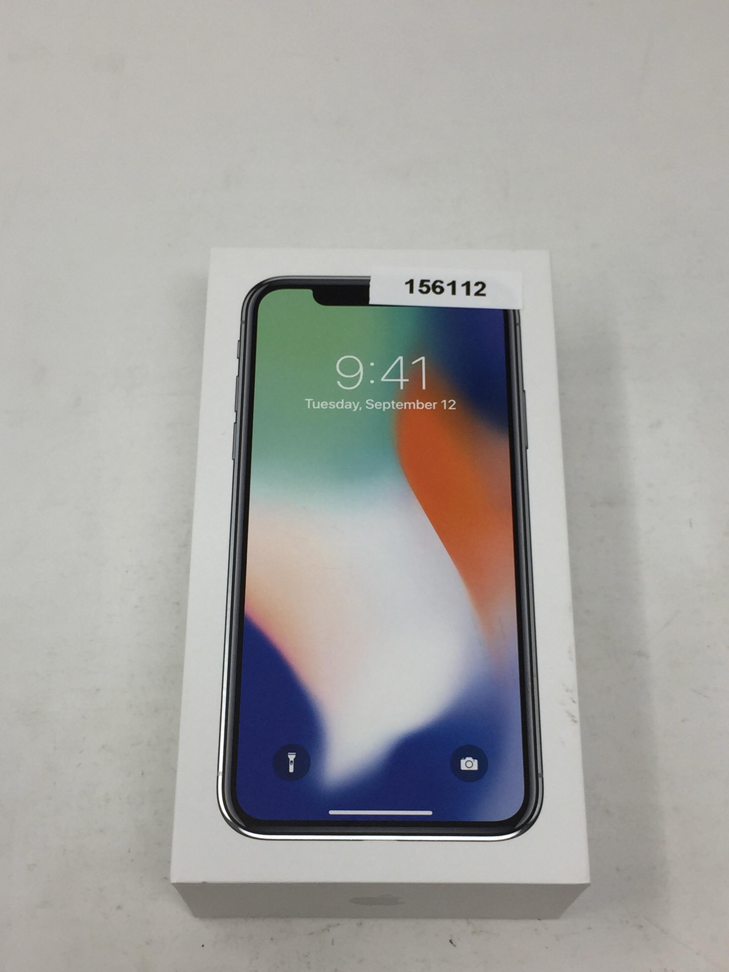 iPhone X 256GB, 256 GB, Silver, bild 3