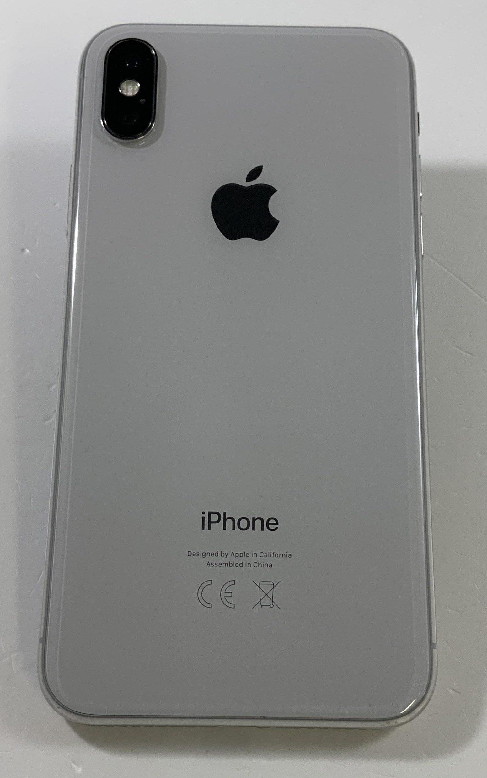 iPhone X 256GB, 256GB, Silver, Afbeelding 2