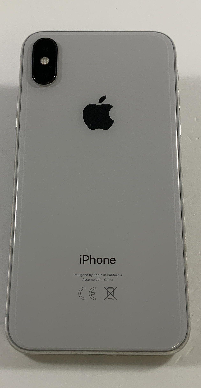 iPhone X 64GB, 64GB, Silver, Bild 2