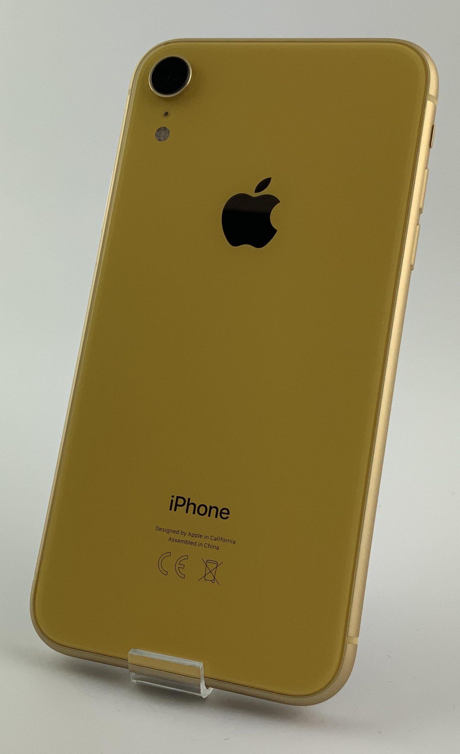 iPhone XR 64GB, 64GB, Yellow, bild 2