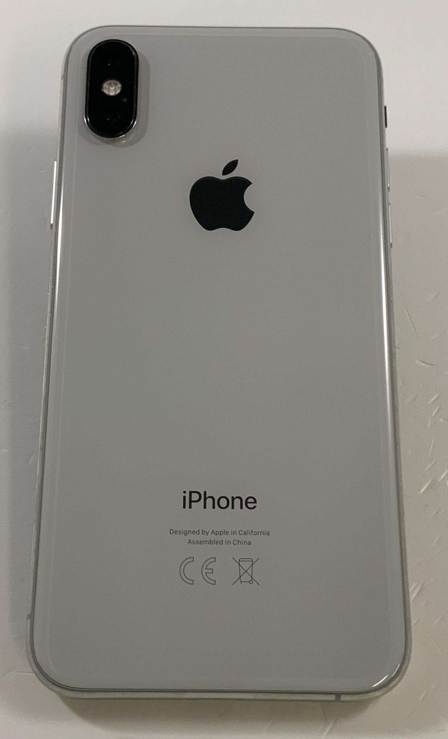 iPhone XS 64GB, 64GB, Silver, bild 2