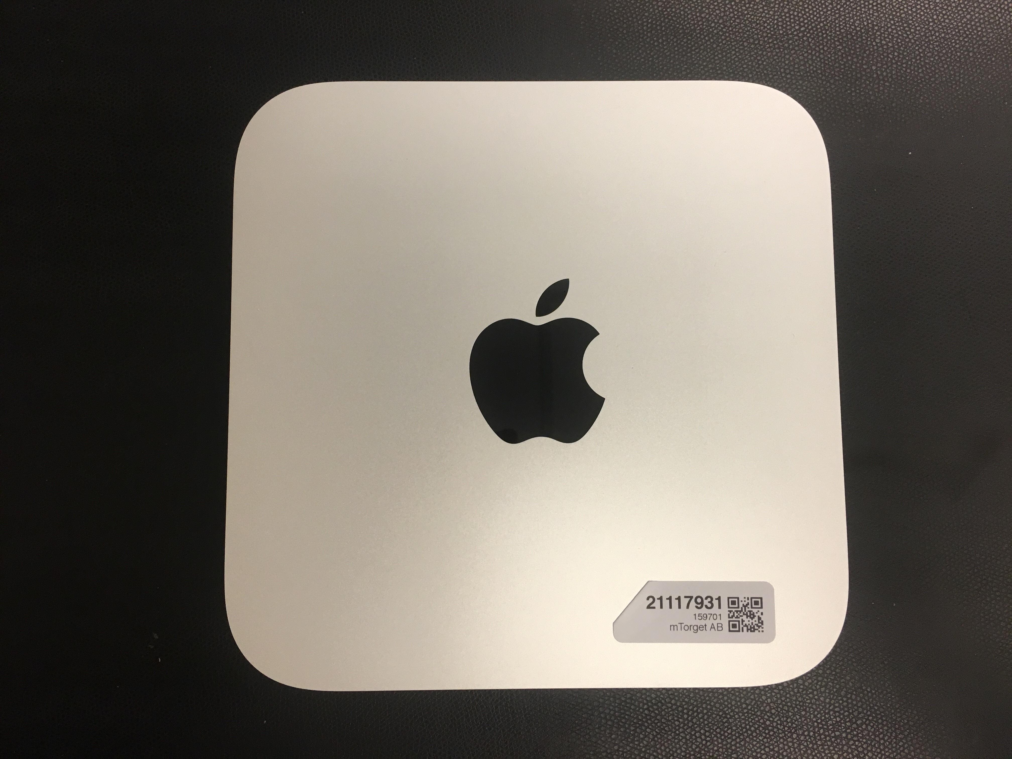 Mac Mini Late 2014 (Intel Core i5 2.6 GHz 8 GB RAM 1 TB HDD), Intel Core i5 2.6 GHz (Haswell), 8 GB PC3-12800 (1600 MHz) LPDDR3, 1 TB, bild 1