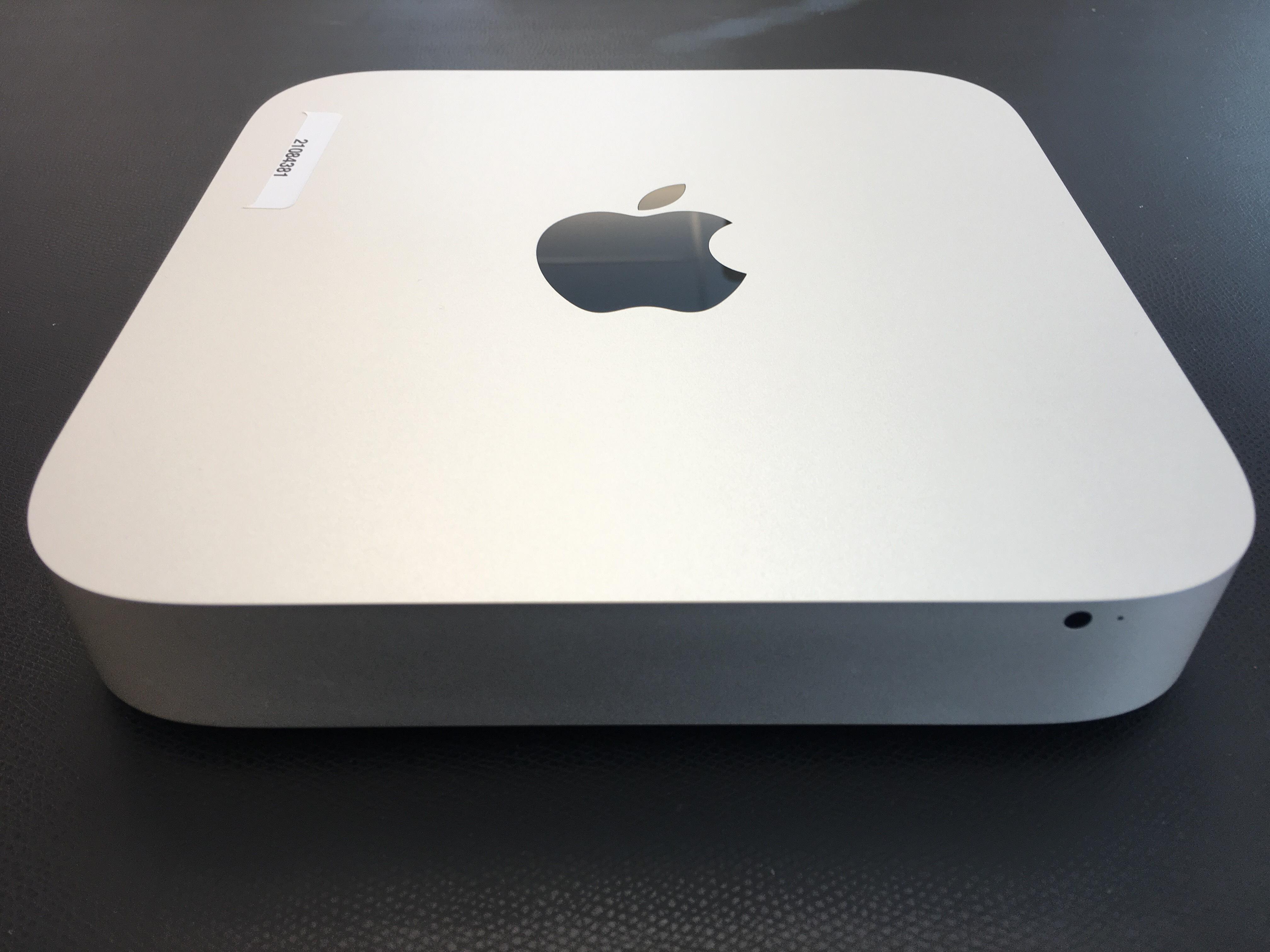 Mac Mini Late 2014 (Intel Core i5 1.4 GHz 4 GB RAM 500 GB HDD), Intel Core i5 1.4 GHz (Haswell), 4 GB PC3-12800 (1600 MHz) LPDDR3, 500 GB, bild 2