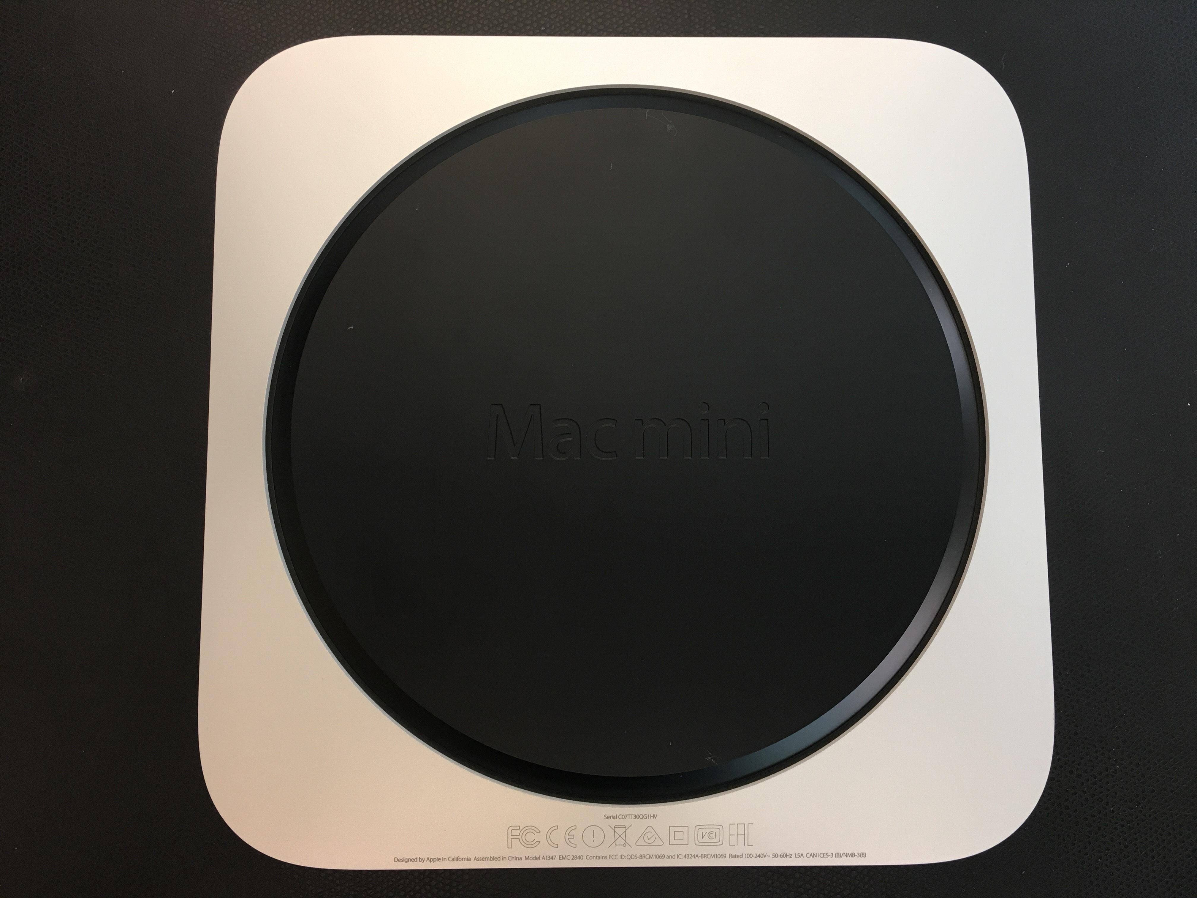 Mac Mini Late 2014 (Intel Core i5 1.4 GHz 4 GB RAM 500 GB HDD), Intel Core i5 1.4 GHz (Haswell), 4 GB PC3-12800 (1600 MHz) LPDDR3, 500 GB, bild 4