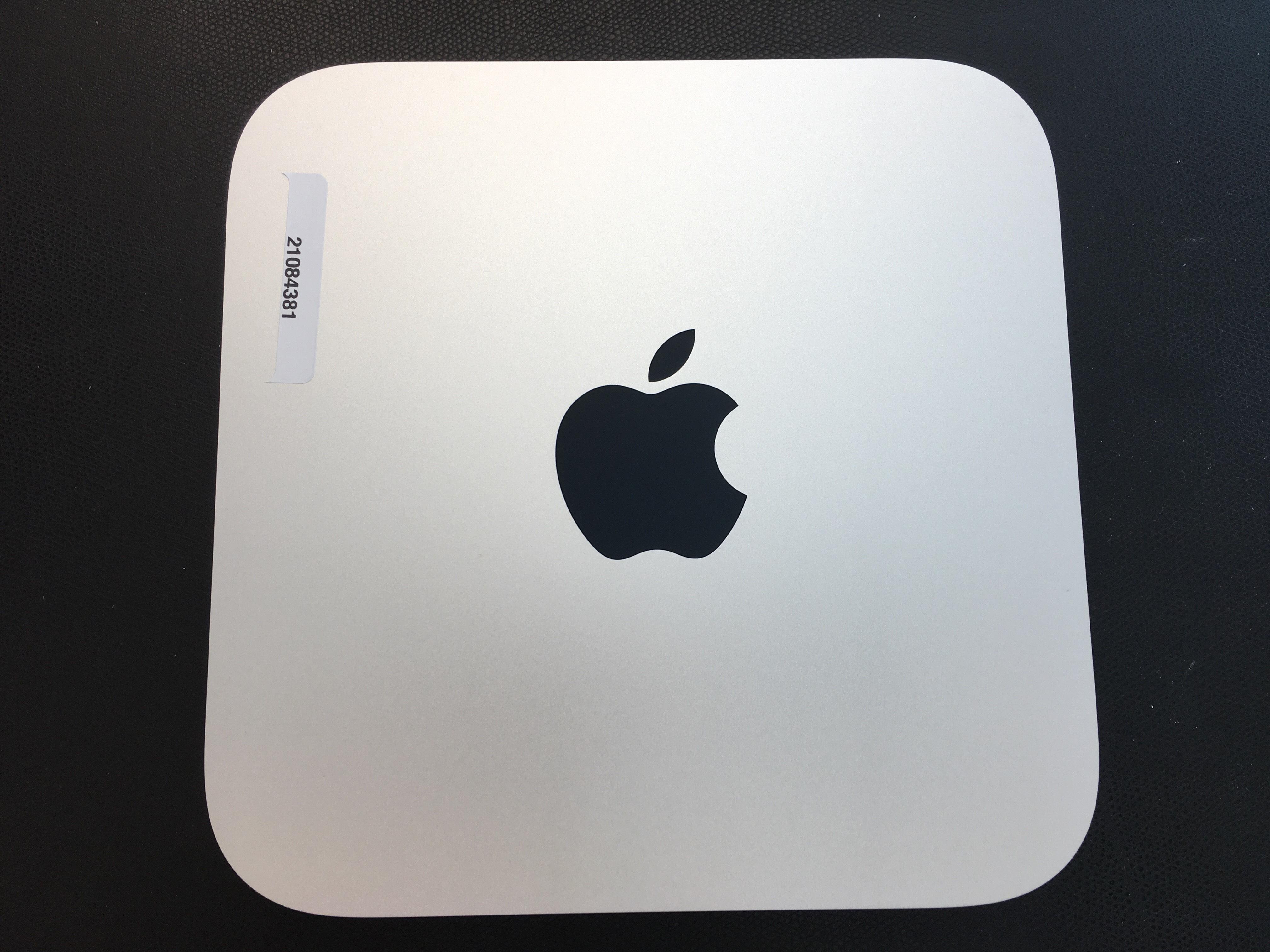 Mac Mini Late 2014 (Intel Core i5 1.4 GHz 4 GB RAM 500 GB HDD), Intel Core i5 1.4 GHz (Haswell), 4 GB PC3-12800 (1600 MHz) LPDDR3, 500 GB, bild 1