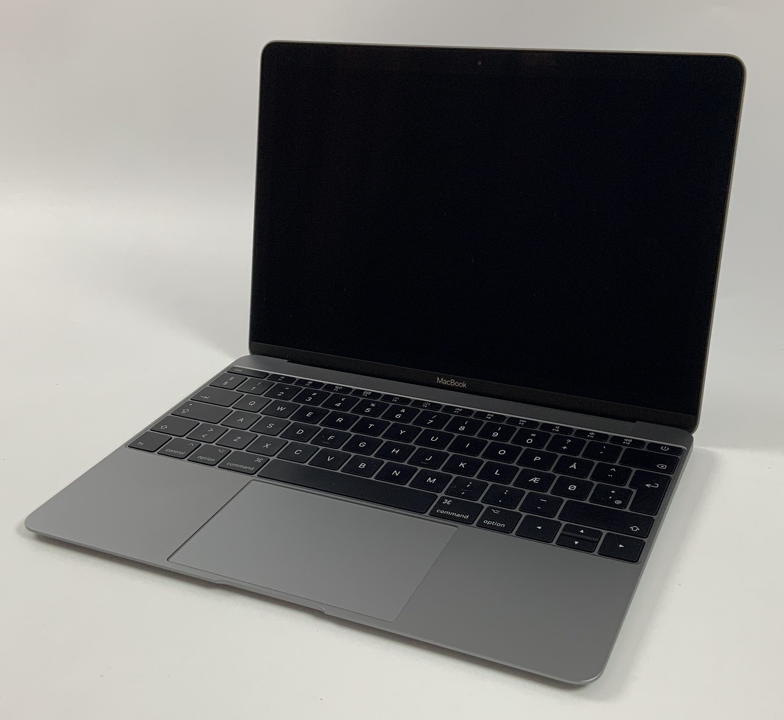 "MacBook 12"" Mid 2017 (Intel Core i5 1.3 GHz 8 GB RAM 512 GB SSD), Space Gray, Intel Core i5 1.3 GHz, 8 GB RAM, 512 GB SSD, bild 1"