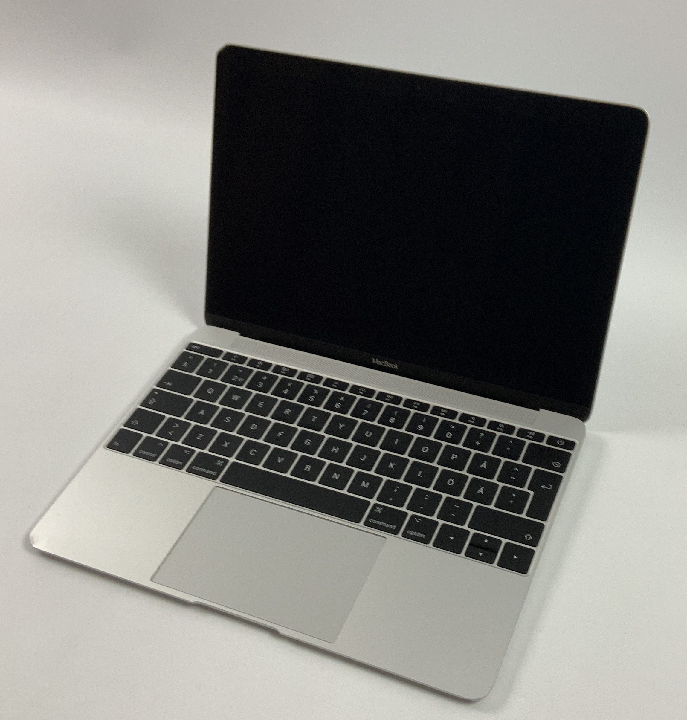 "MacBook 12"" Mid 2017 (Intel Core i5 1.3 GHz 8 GB RAM 512 GB SSD), Silver, Intel Core i5 1.3 GHz, 8 GB RAM, 512 GB SSD, Kuva 1"