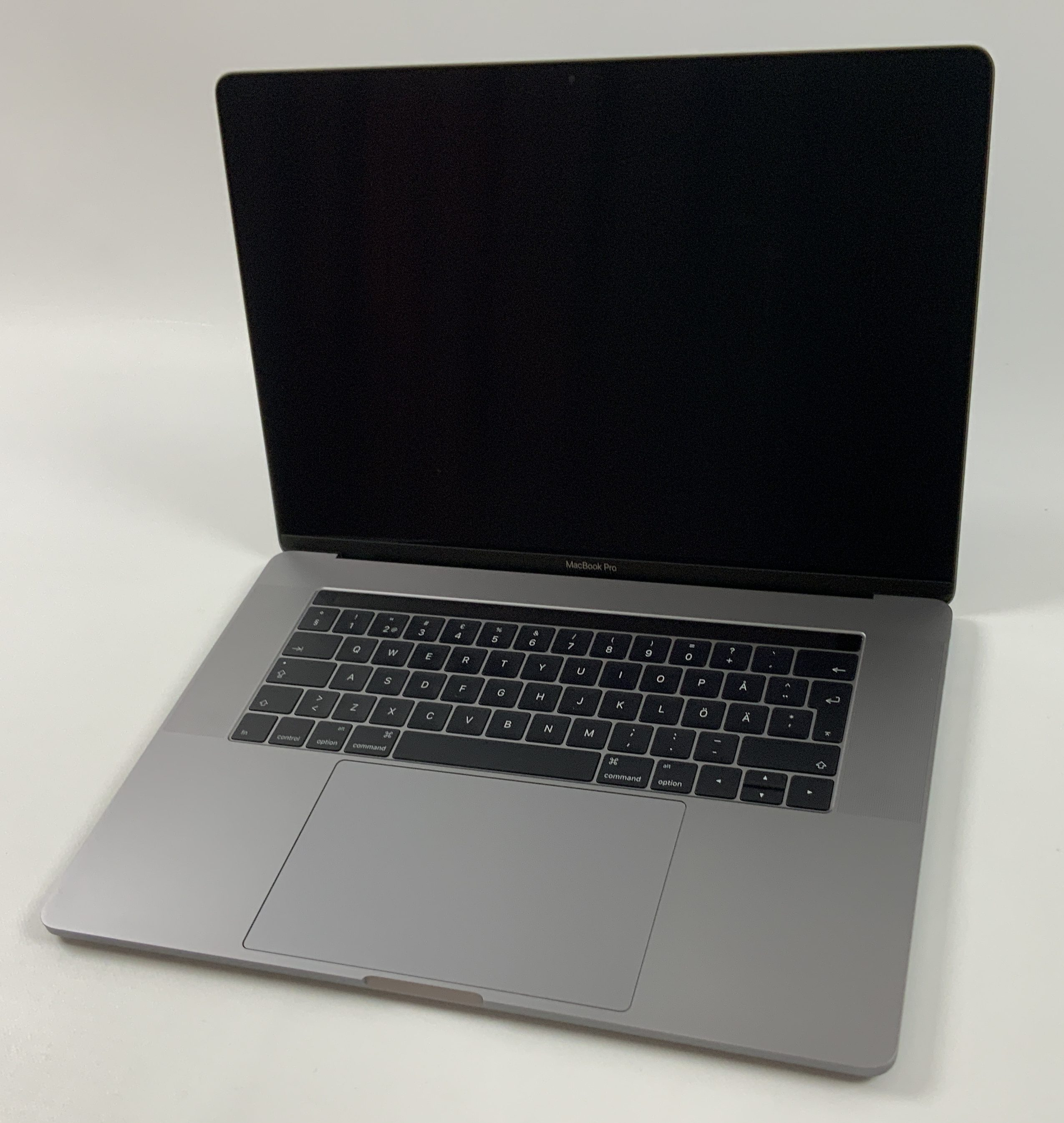"MacBook Pro 15"" Touch Bar Late 2016 (Intel Quad-Core i7 2.7 GHz 16 GB RAM 512 GB SSD), Space Gray, Intel Quad-Core i7 2.7 GHz, 16 GB RAM, 512 GB SSD, Kuva 1"