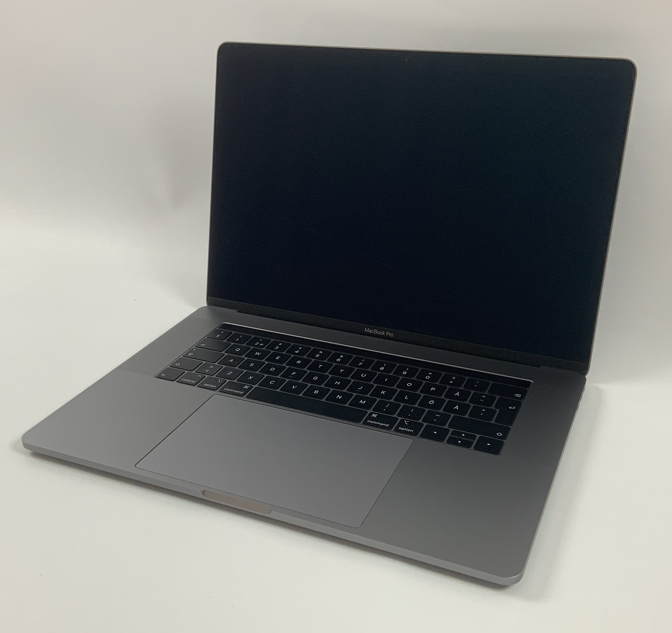 "MacBook Pro 15"" Touch Bar Mid 2018 (Intel 6-Core i7 2.2 GHz 16 GB RAM 512 GB SSD), Space Gray, Intel 6-Core i7 2.2 GHz, 16 GB RAM, 512 GB SSD, obraz 1"