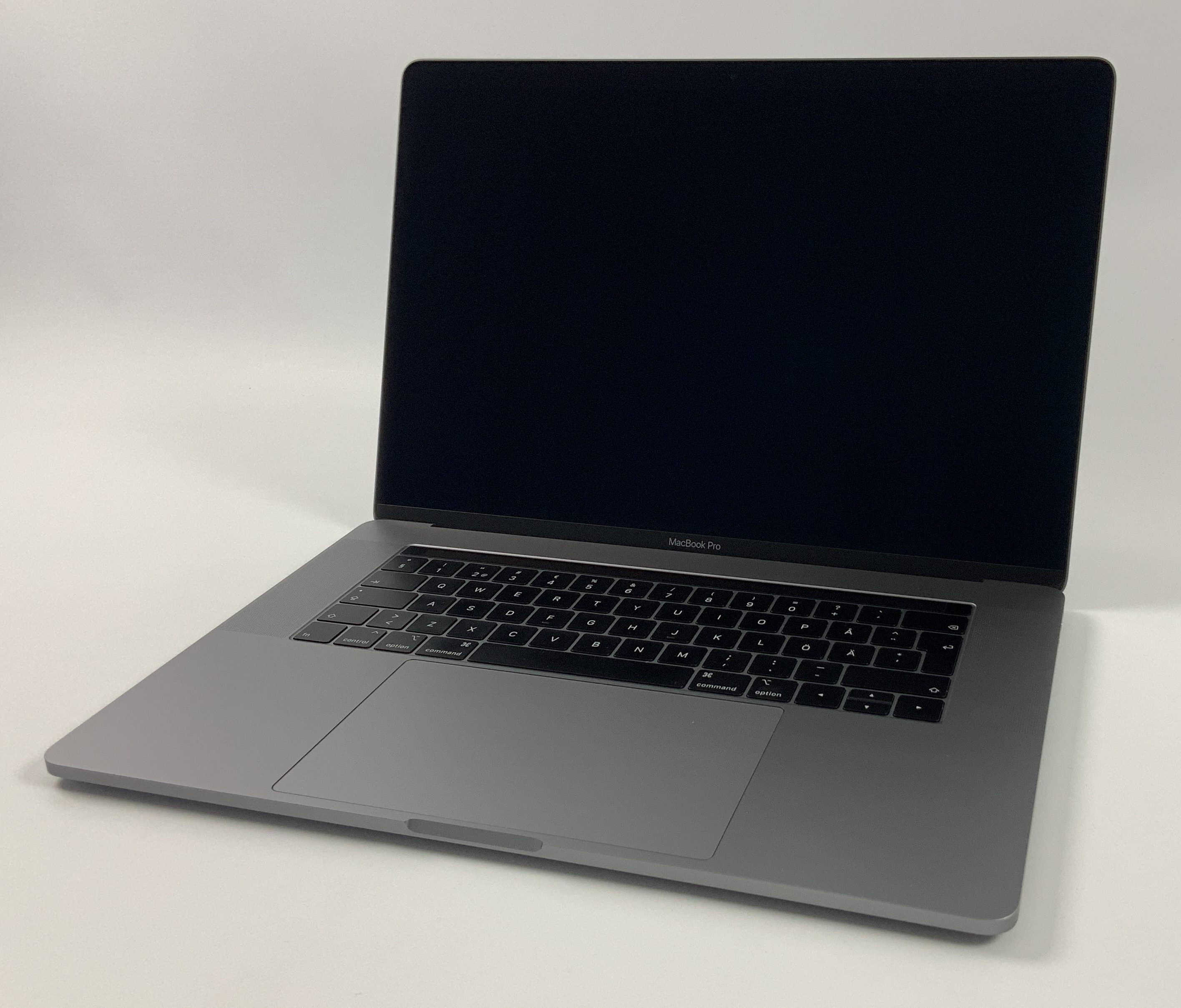 "MacBook Pro 15"" Touch Bar Mid 2018 (Intel 6-Core i7 2.6 GHz 16 GB RAM 512 GB SSD), Space Gray, Intel 6-Core i7 2.6 GHz, 16 GB RAM, 512 GB SSD, Bild 1"