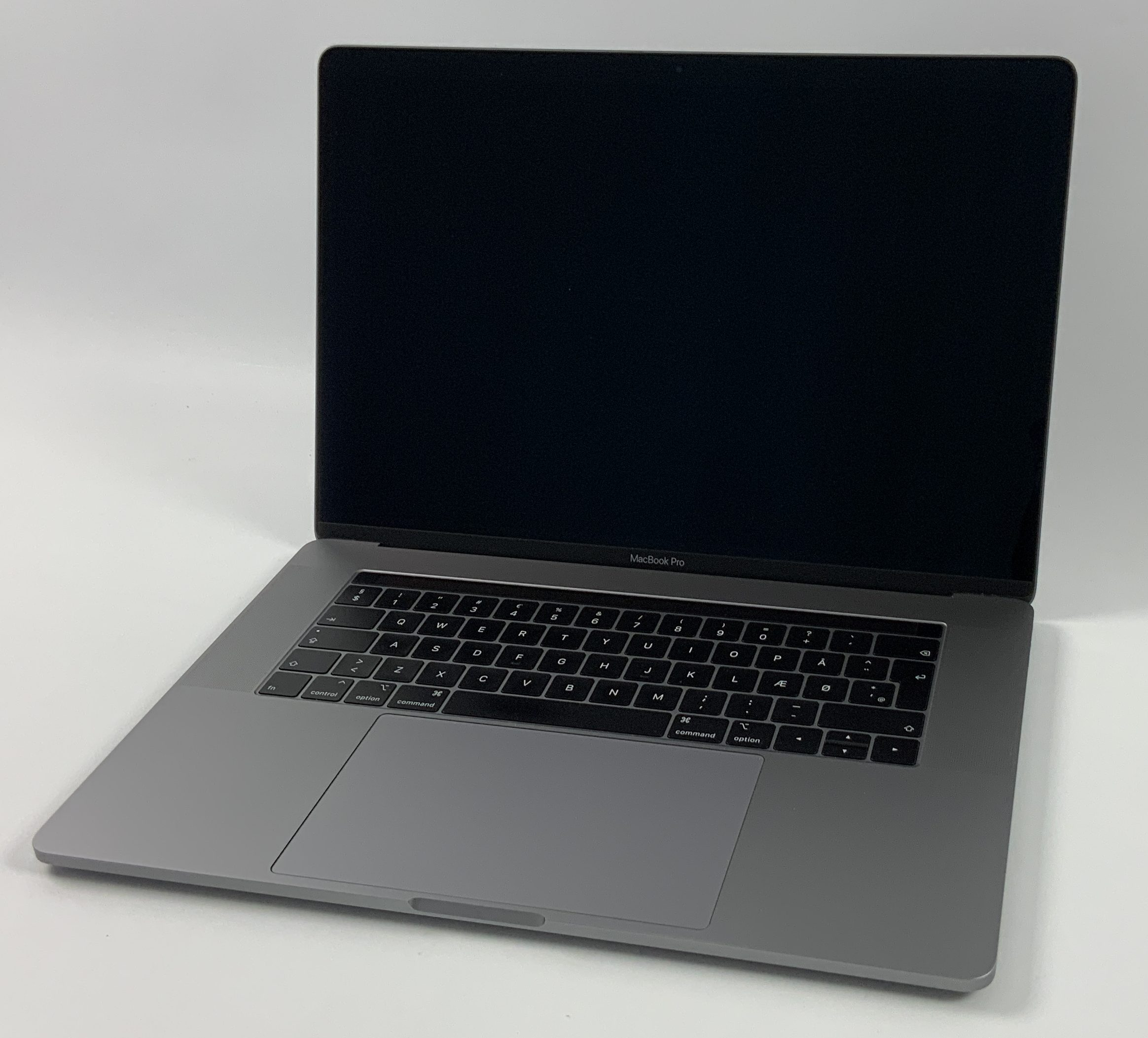 "MacBook Pro 15"" Touch Bar Mid 2018 (Intel 6-Core i7 2.6 GHz 16 GB RAM 512 GB SSD), Space Gray, Intel 6-Core i7 2.6 GHz, 16 GB RAM, 512 GB SSD, image 1"