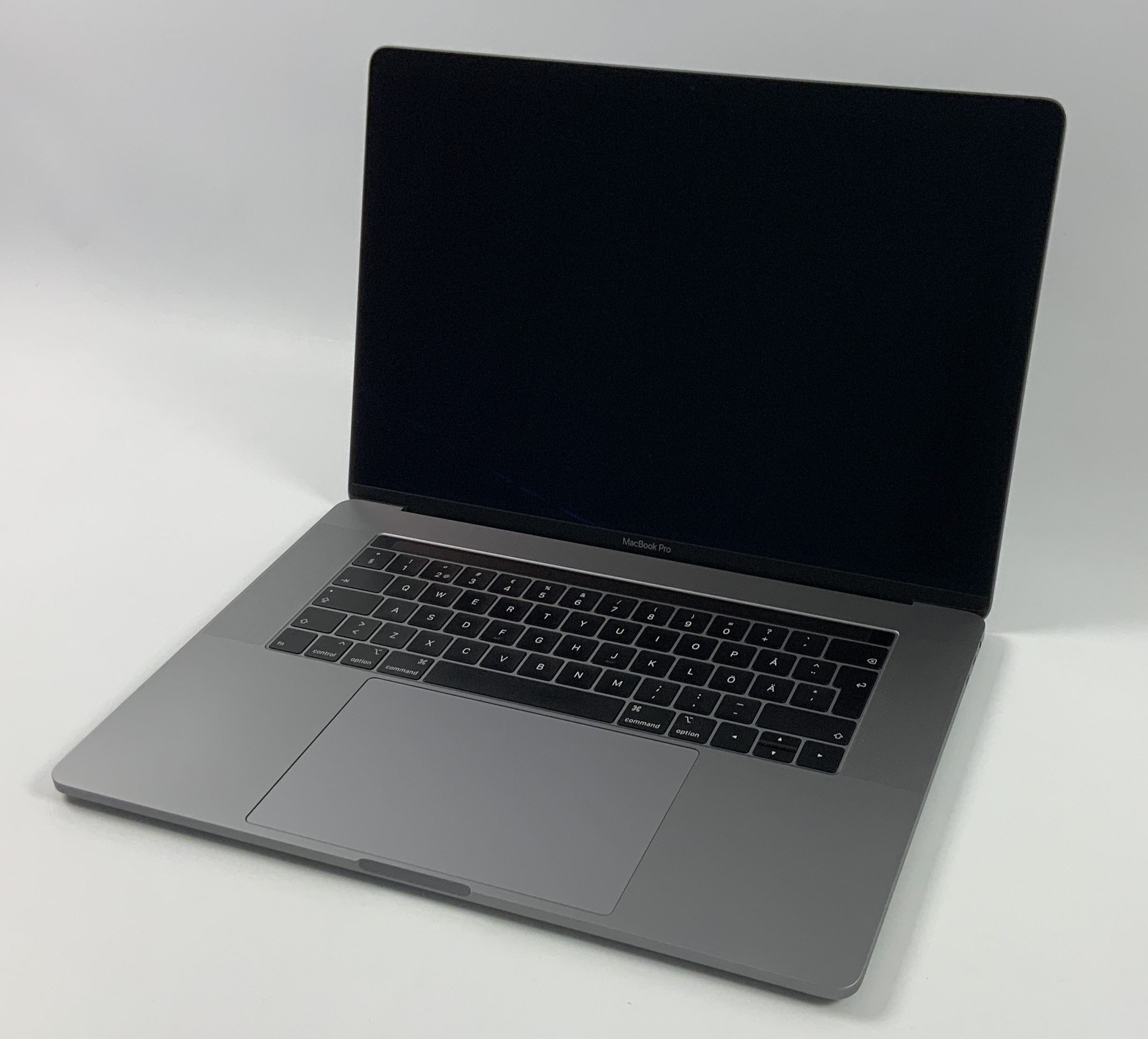 "MacBook Pro 15"" Touch Bar Mid 2019 (Intel 8-Core i9 2.3 GHz 32 GB RAM 512 GB SSD), Space Gray, Intel 8-Core i9 2.3 GHz, 32 GB RAM, 512 GB SSD, bild 1"