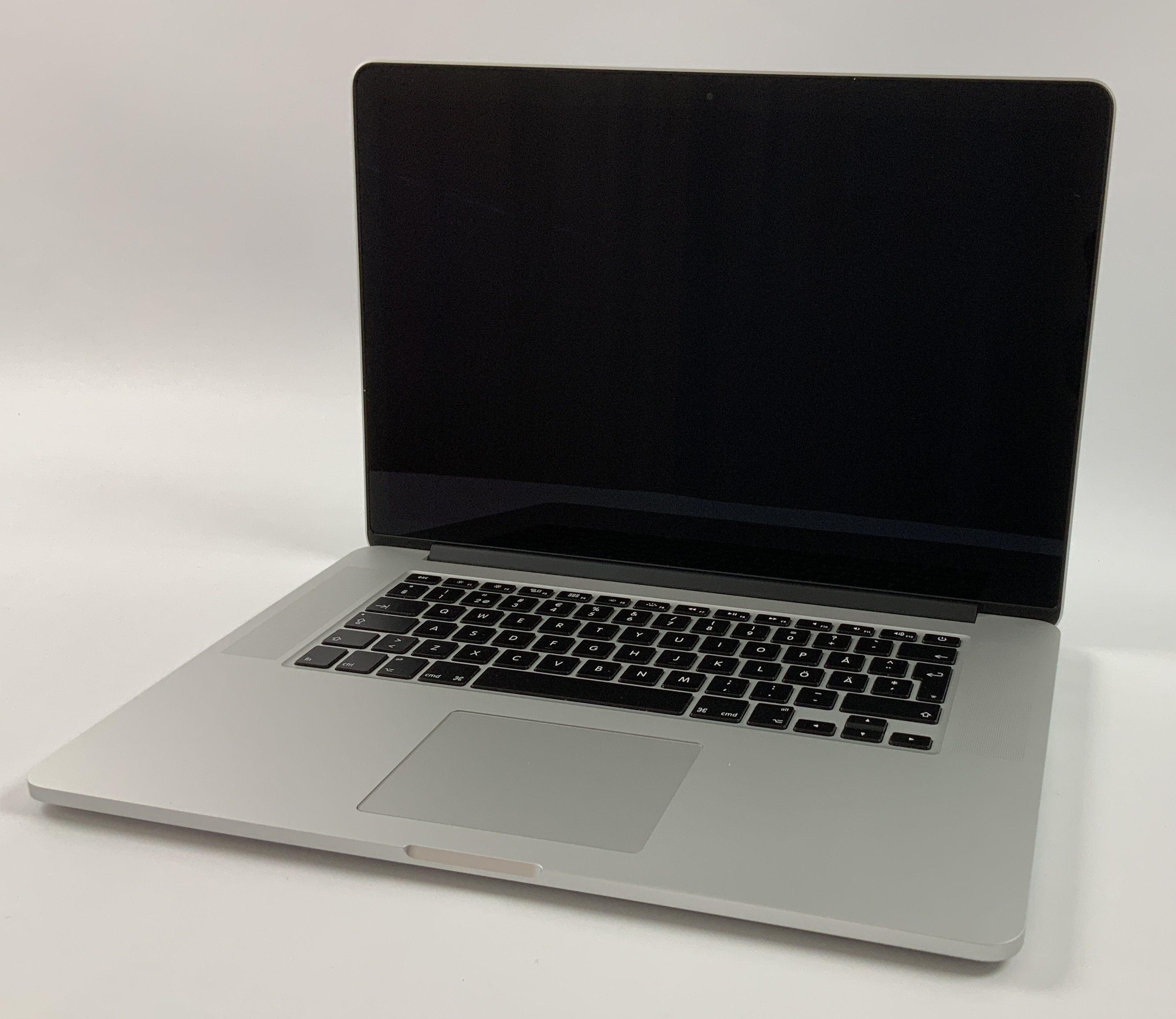 "MacBook Pro Retina 15"" Mid 2015 (Intel Quad-Core i7 2.2 GHz 16 GB RAM 256 GB SSD), Intel Quad-Core i7 2.2 GHz, 16 GB RAM, 256 GB SSD, Afbeelding 1"