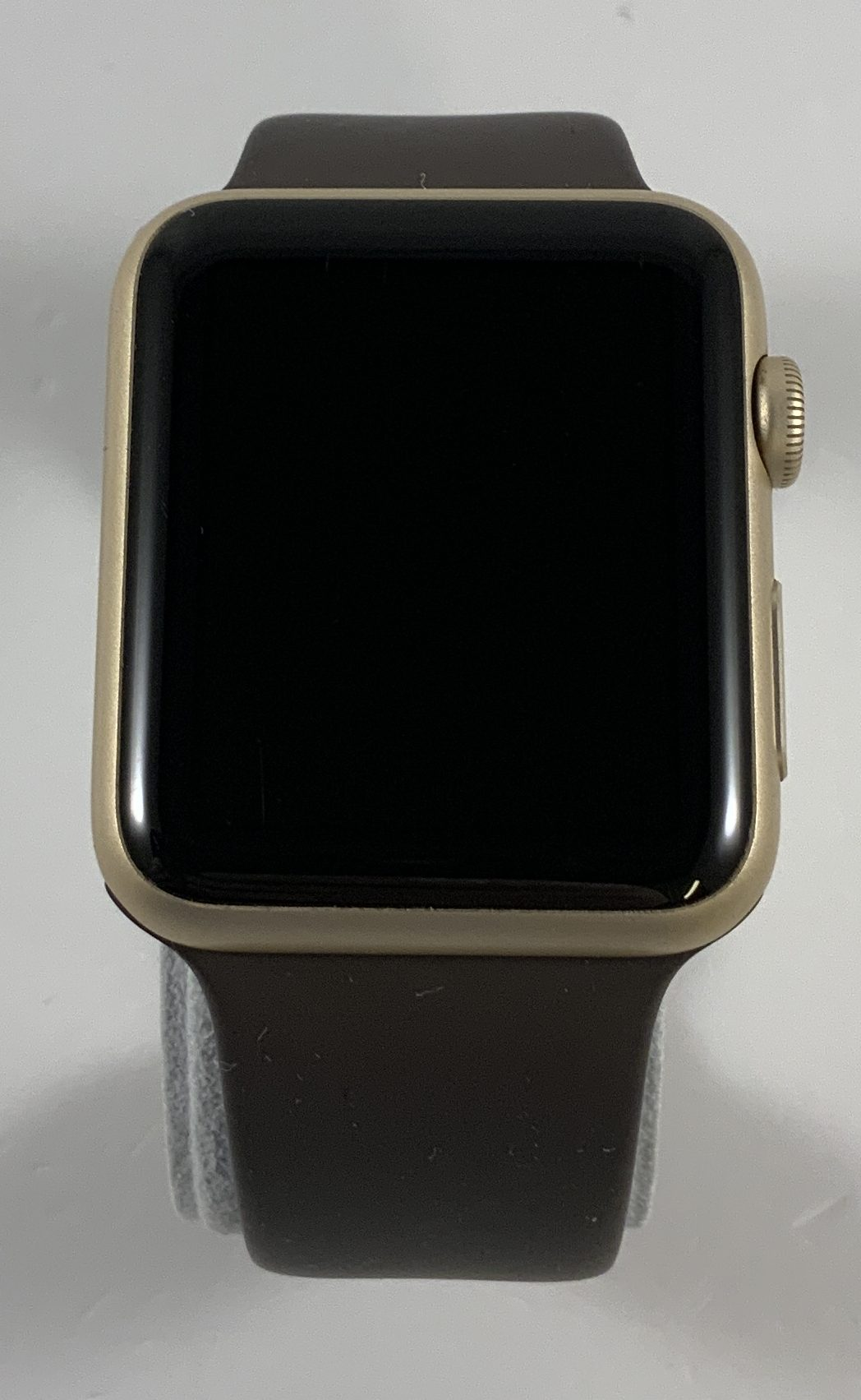 Watch Series 1 Aluminum (42mm), Gold, Cocoa Sport Band, bild 1