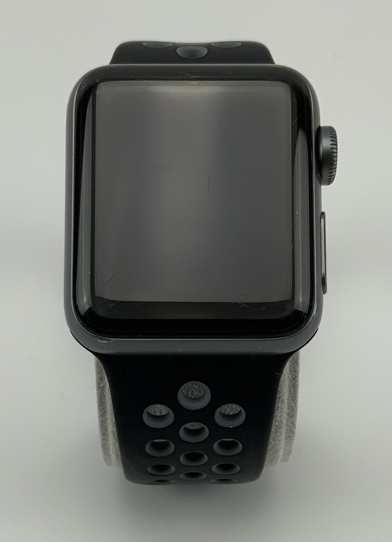 Watch Series 2 Aluminum (38mm), Space Gray, Anthracite/Black Nike Sport Band, Kuva 1