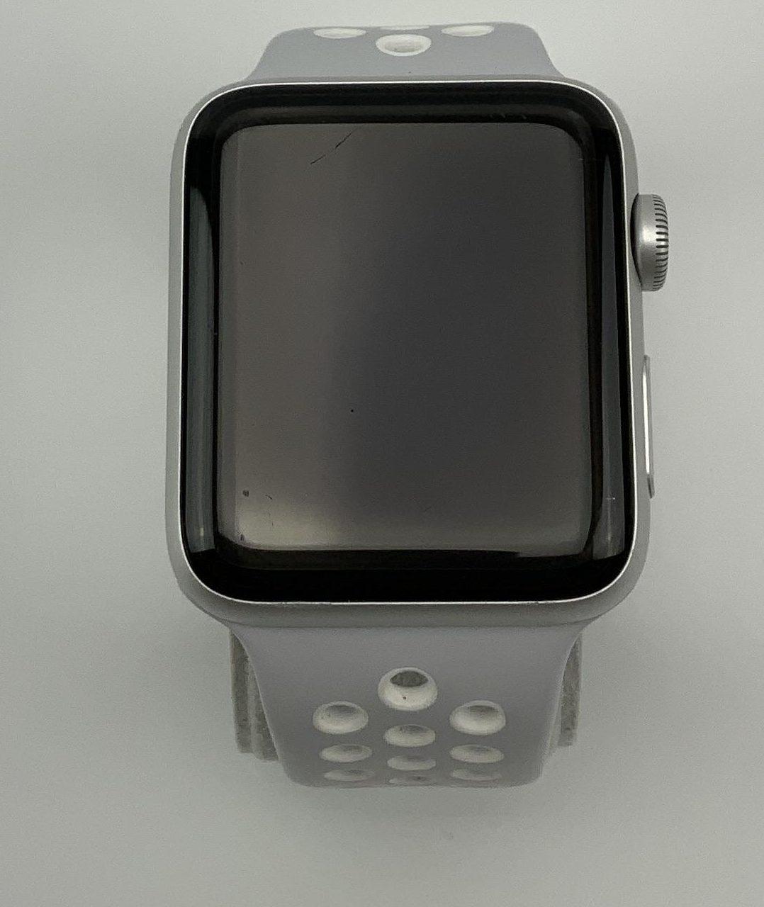 Watch Series 2 Aluminum (42mm), Silver, Pure Platinum/Black Nike Sport Band, bild 1