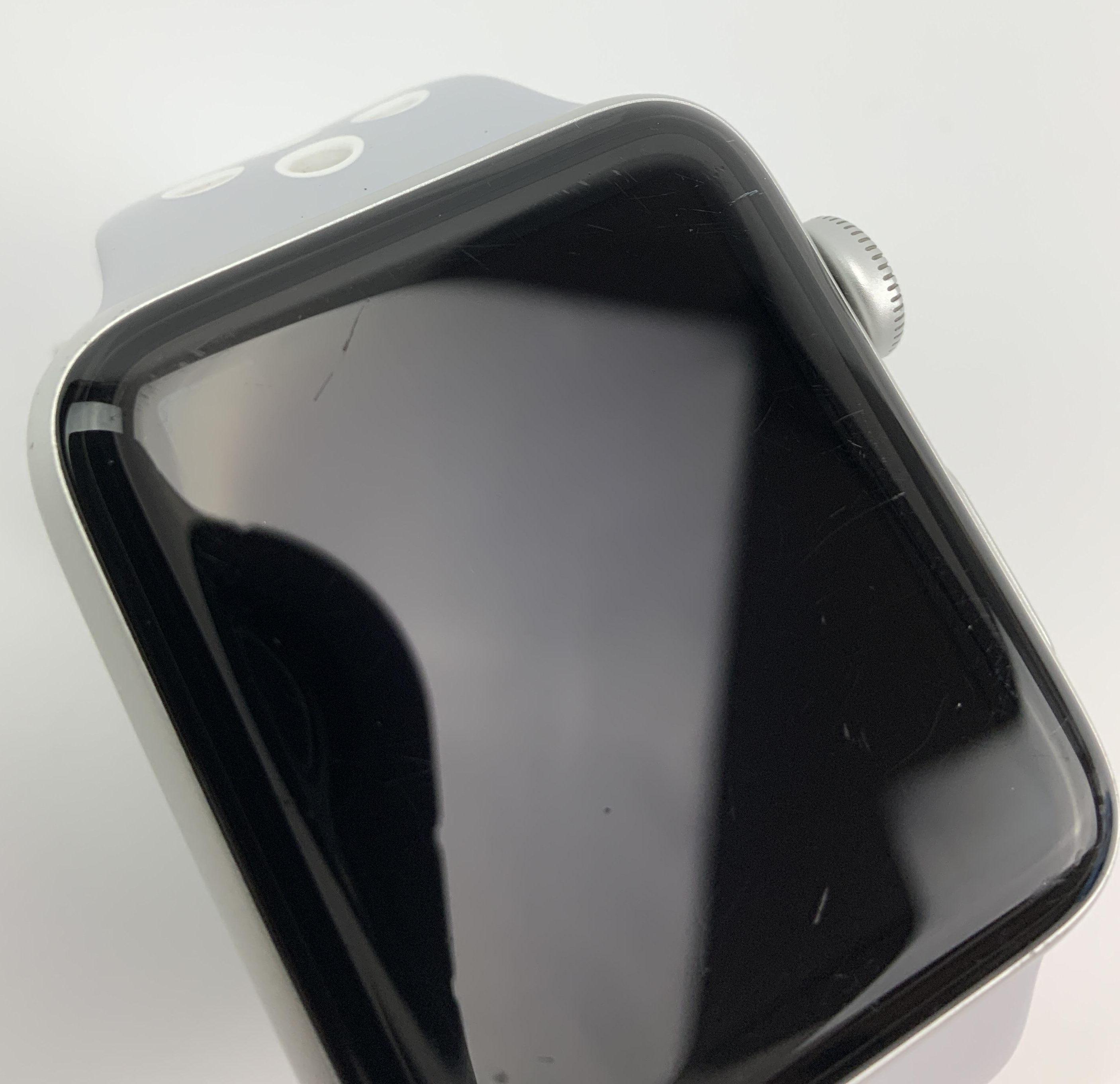 Watch Series 2 Aluminum (42mm), Silver, Pure Platinum/Black Nike Sport Band, bild 2
