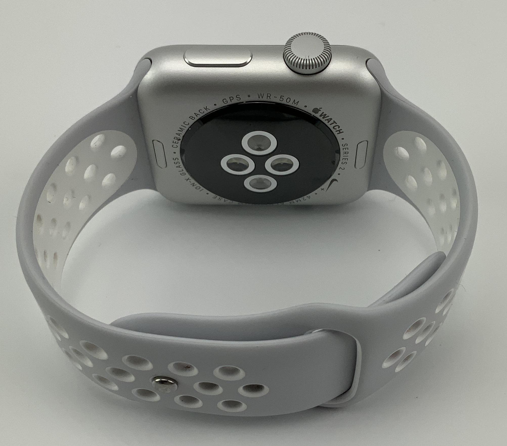 Watch Series 2 Aluminum (42mm), Silver, Pure Platinum/Black Nike Sport Band, bild 4