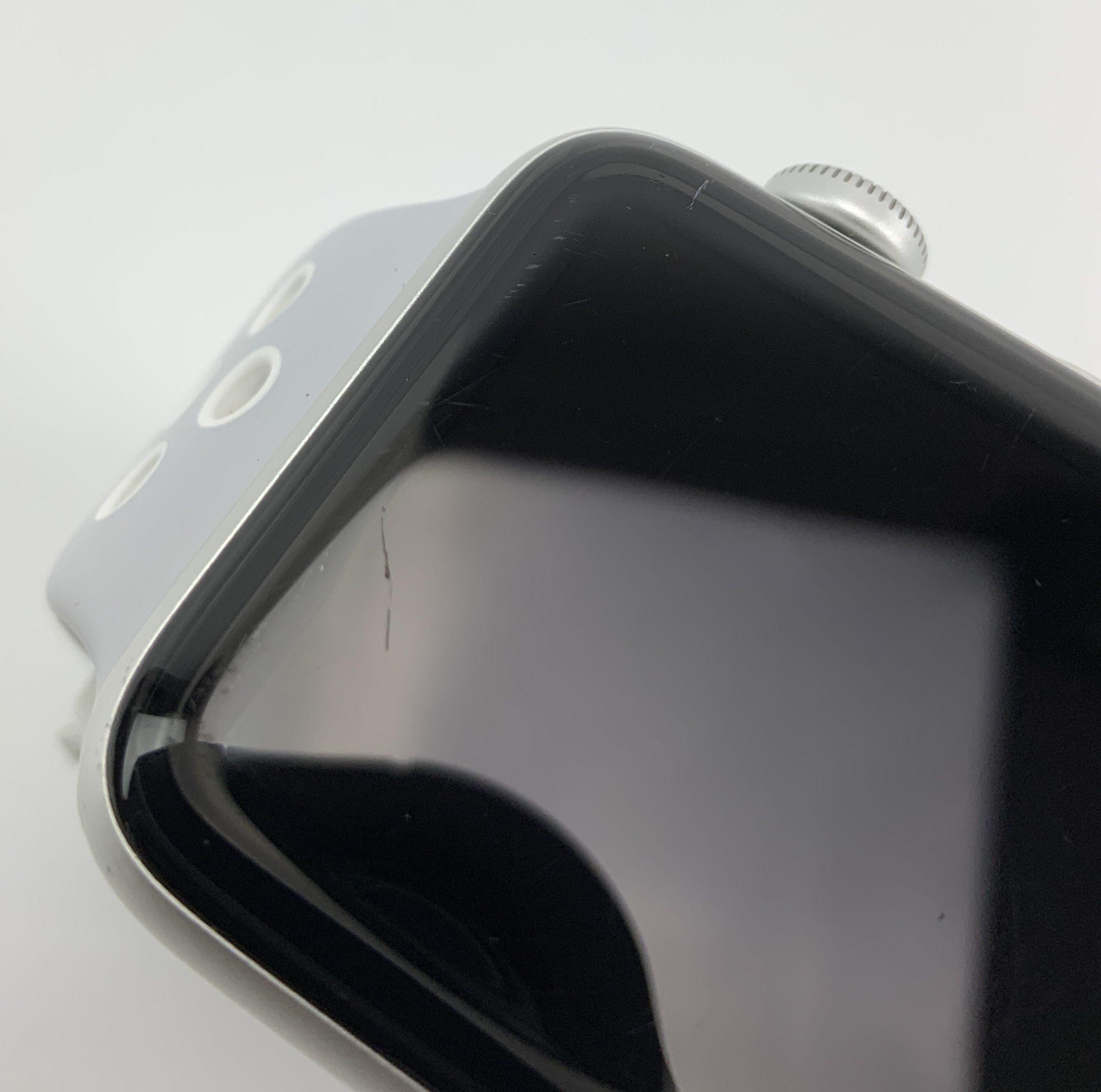 Watch Series 2 Aluminum (42mm), Silver, Pure Platinum/Black Nike Sport Band, bild 3