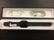 Watch Series 3 (42mm), Nike+ Sport band, Anthracite/Black