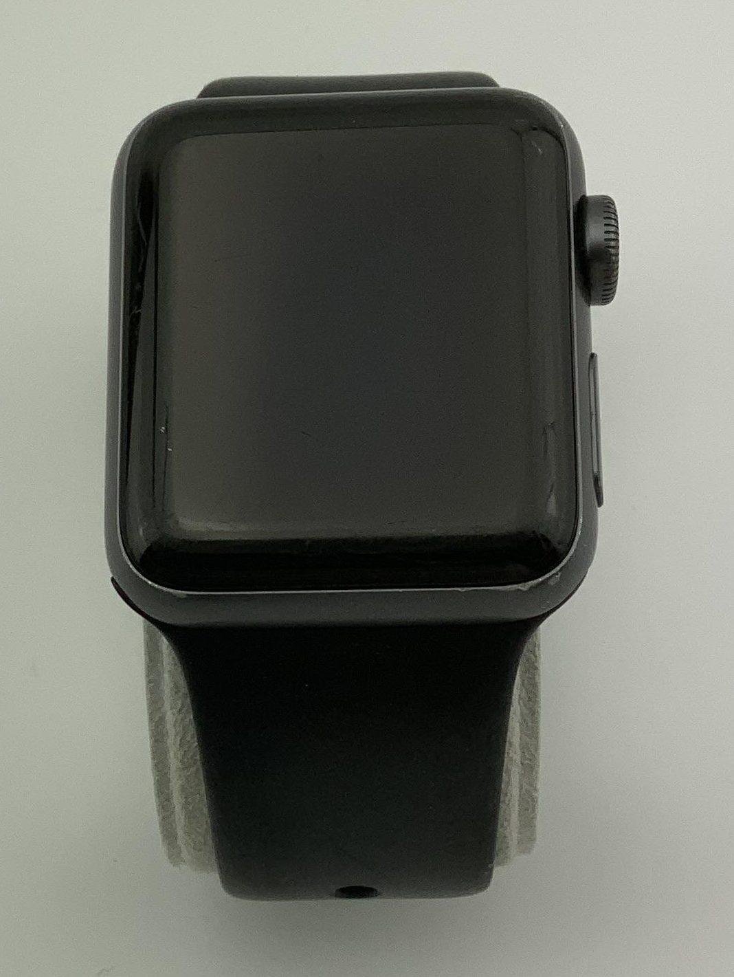 Watch Series 3 Aluminum (38mm), Space Gray, Black Sport Band, bild 1